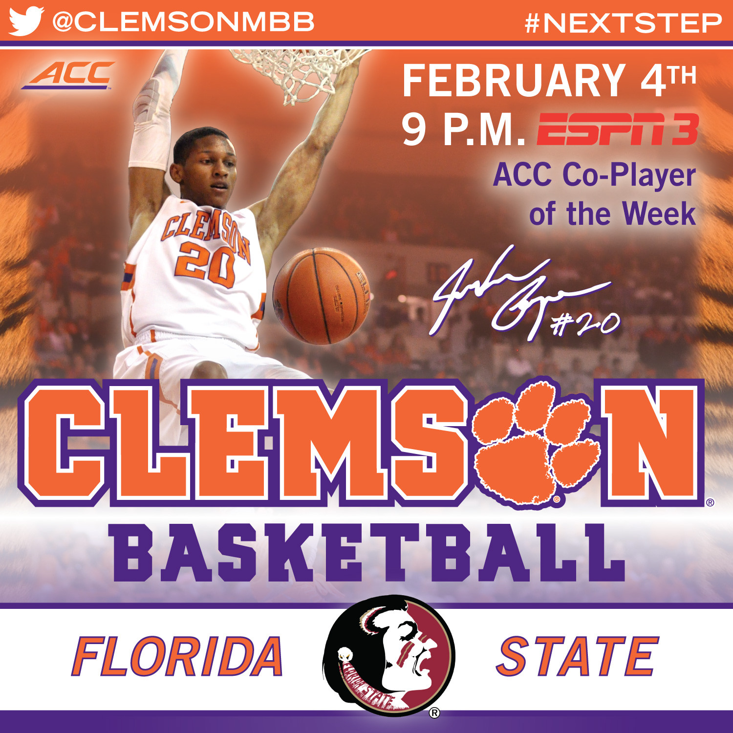 Tigers Travel to Florida State