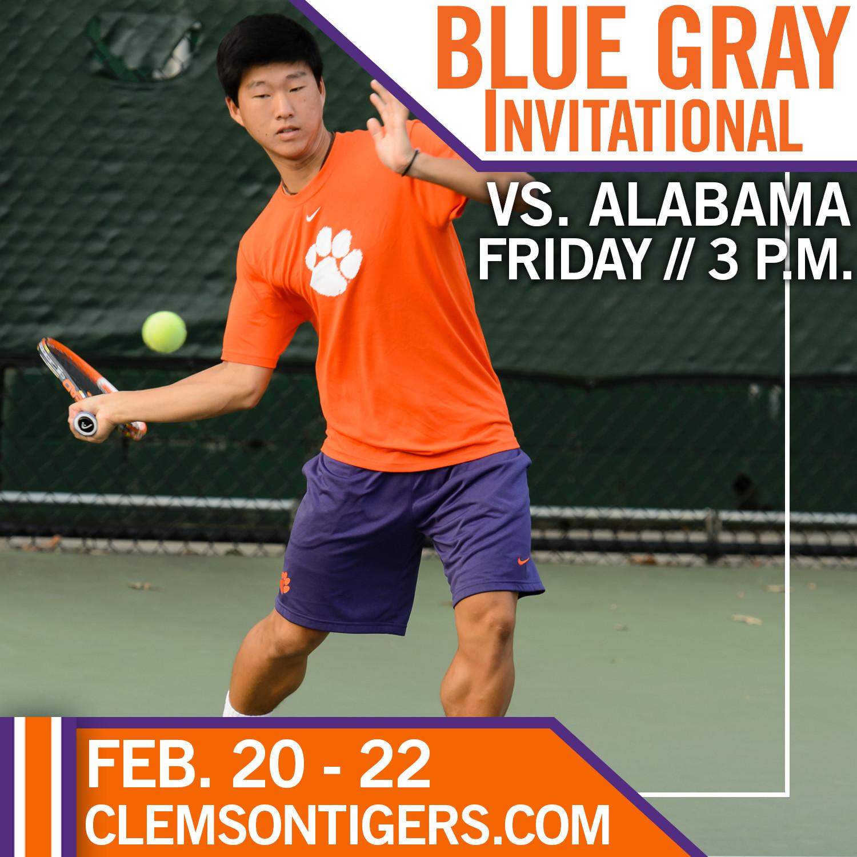 No. 35 Clemson Meets No. 49 Alabama at Blue Gray Invitational