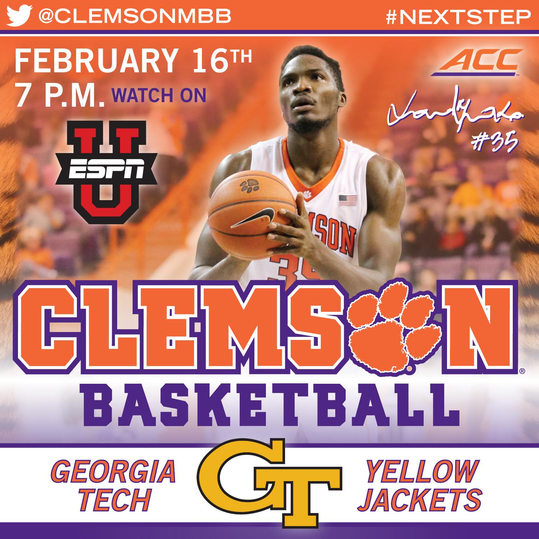 Clemson Travels to Atlanta to Face Georgia Tech