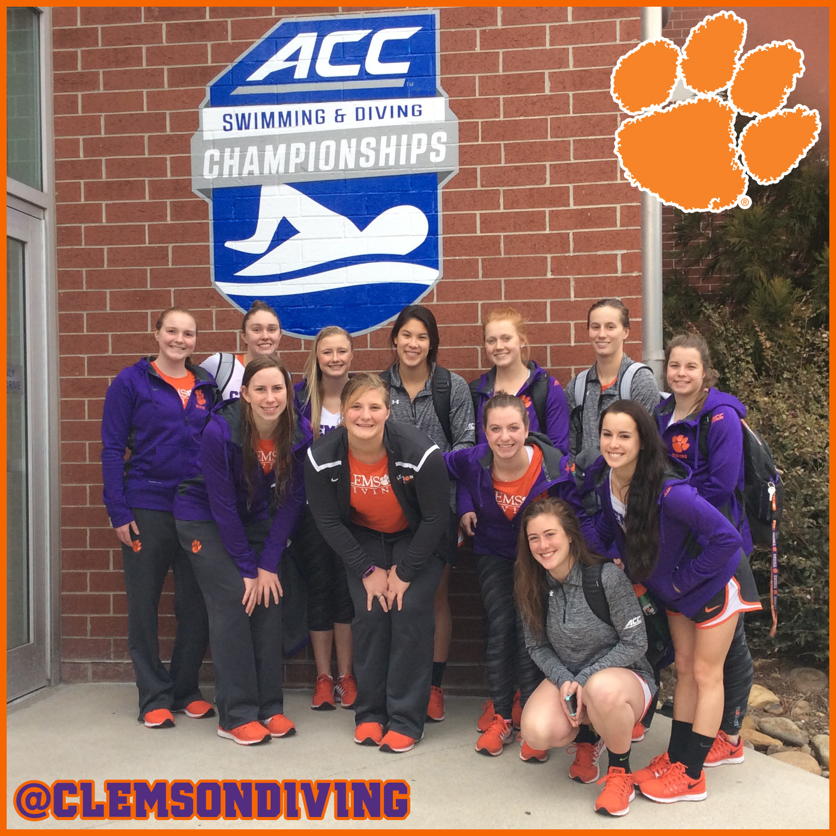 Tigers Finish Strong in Platform at 2015 ACC Championships