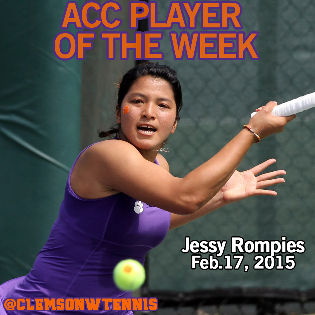 Rompies Named ACC Player of the Week