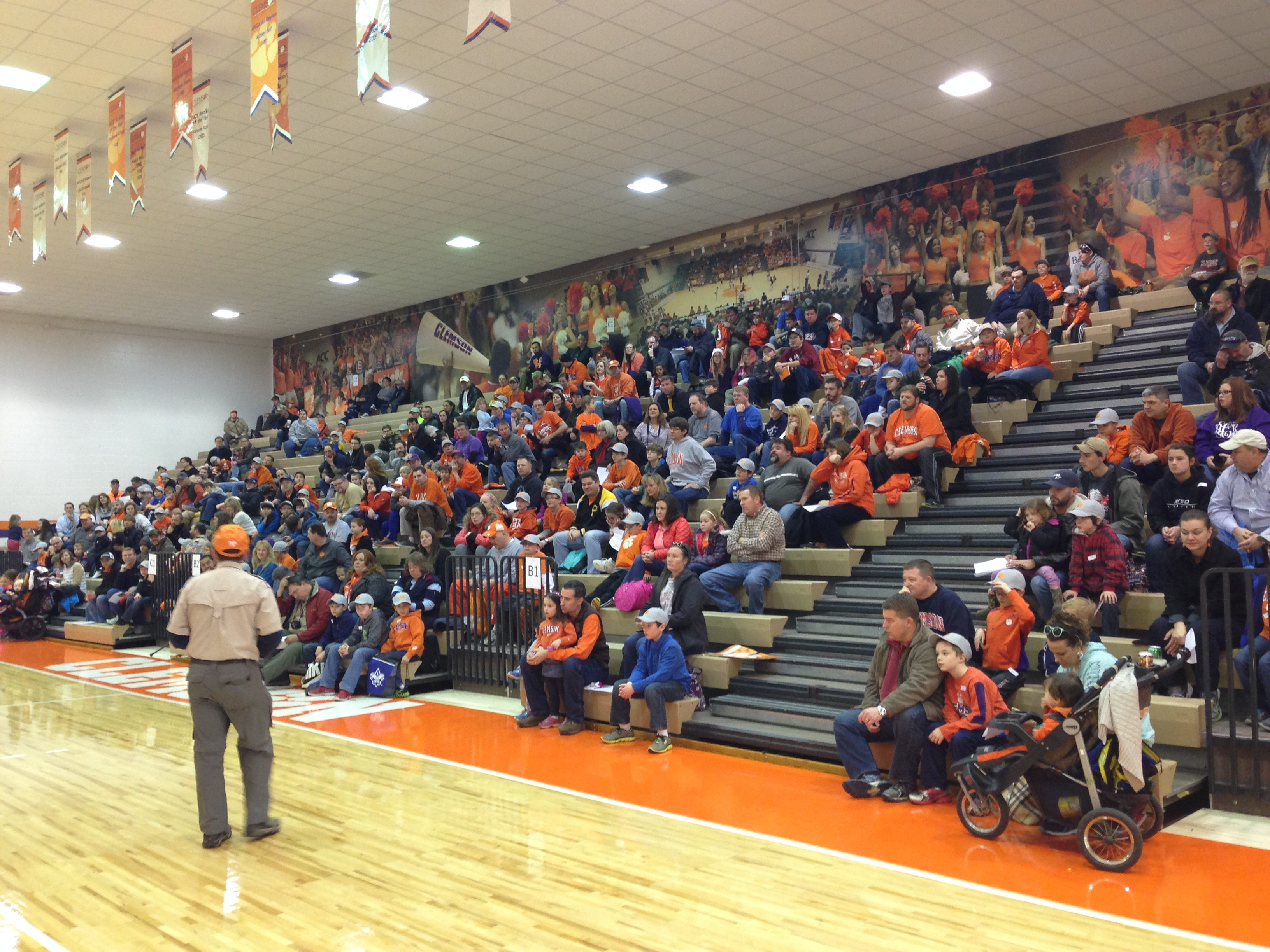 Clemson Student-Athletes host Boy Scout Sports Clinic