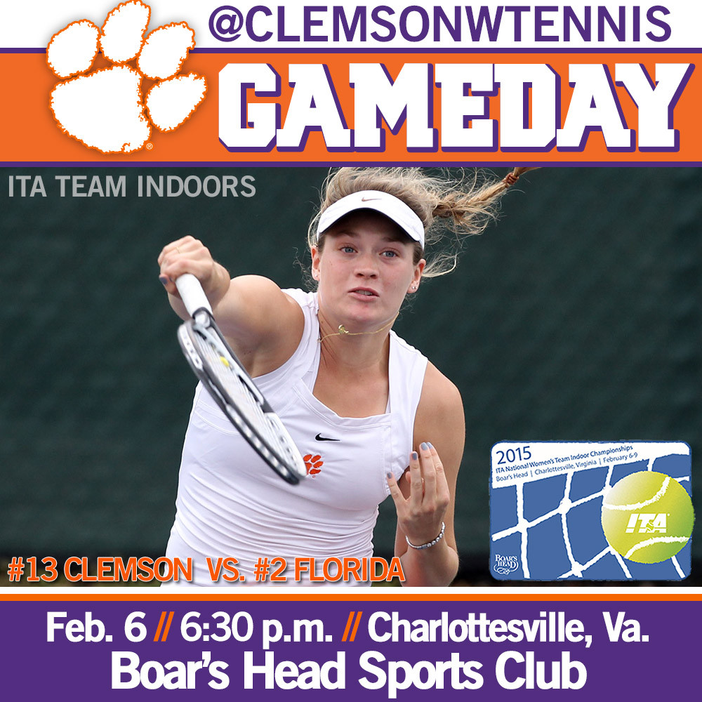 Tigers Face Gators in First Round at ITA Team Indoors