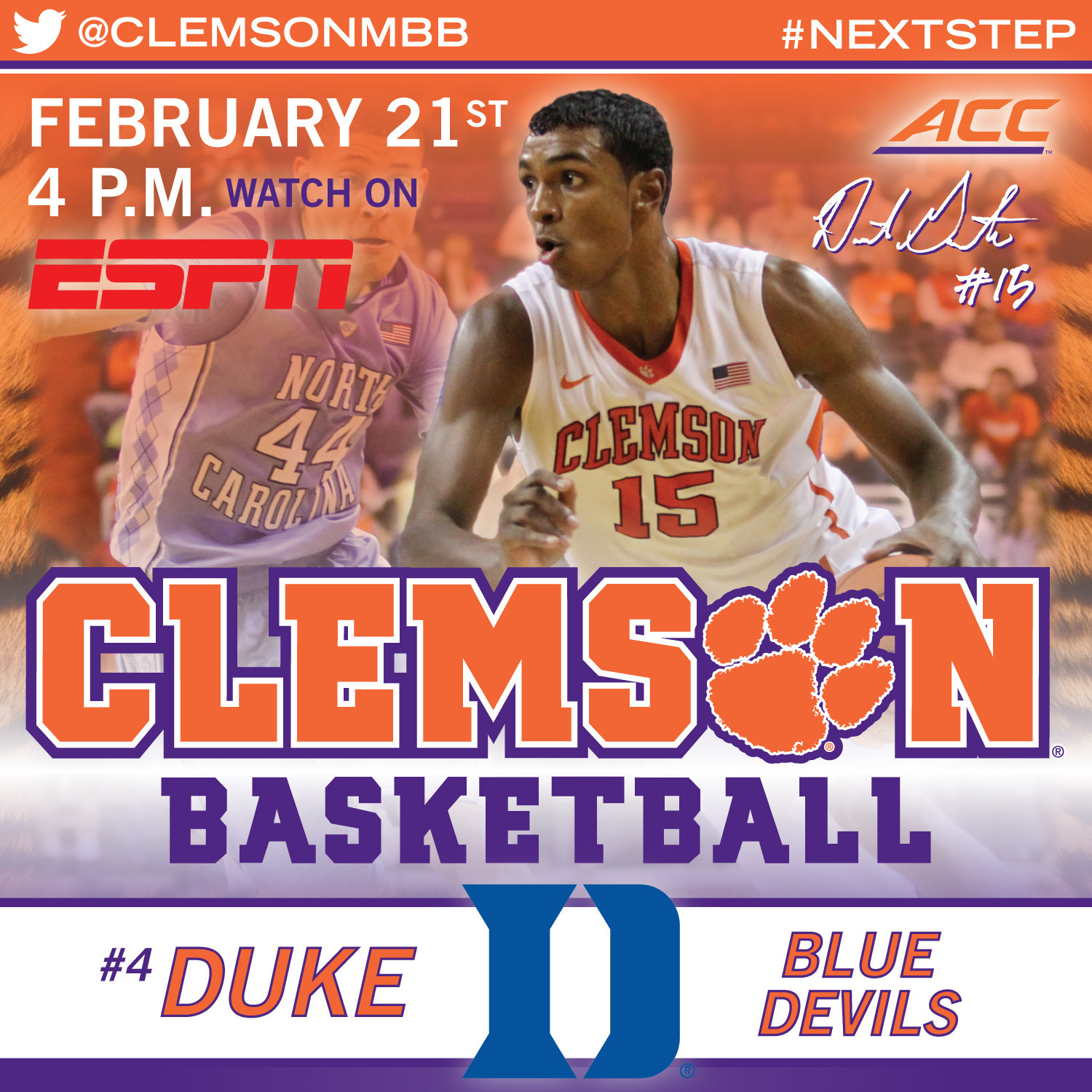 Tigers Travel to Durham to Face No. 4 Duke