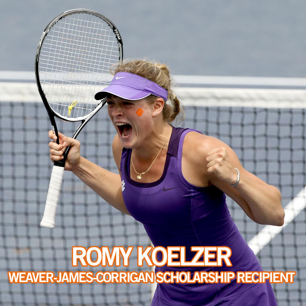 Koelzer Named as Weaver-James-Corrigan Scholarship Recipient