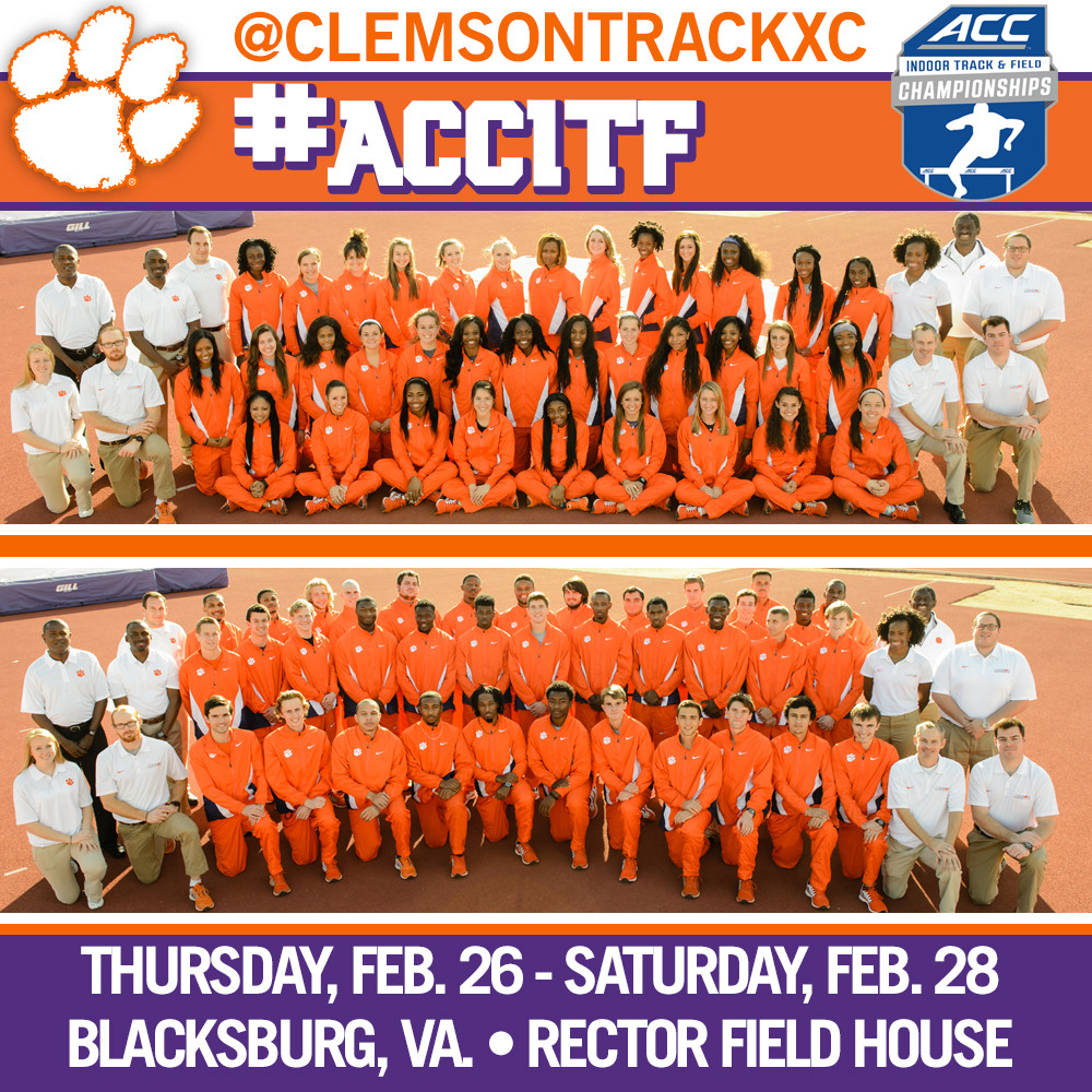 Tigers to Compete at ACC Indoor Championships