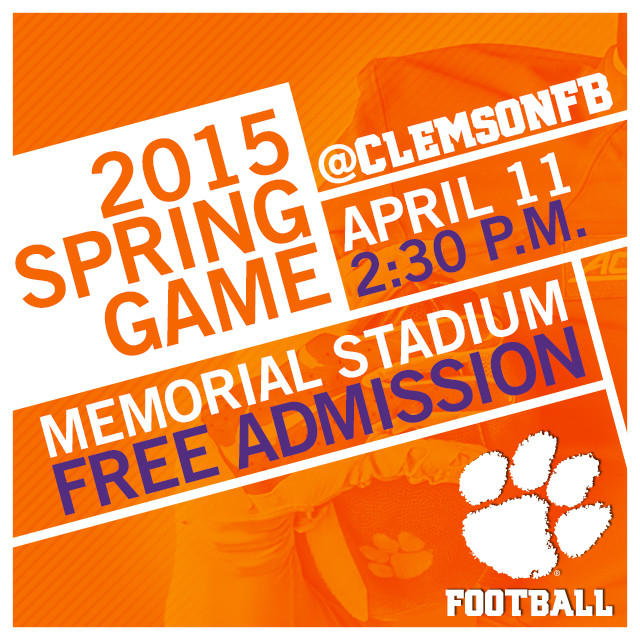 Clemson Prepares for a Busy Saturday