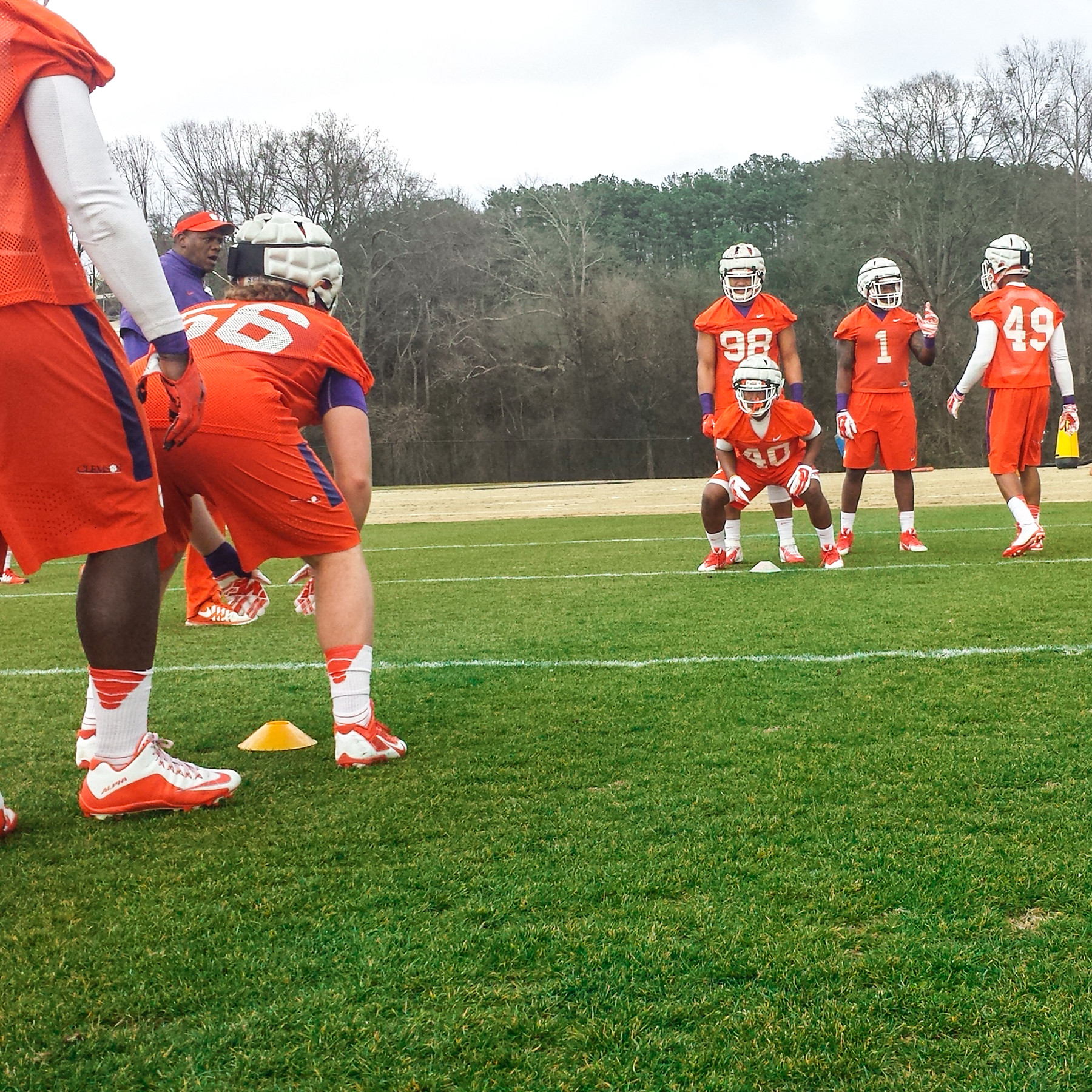 Tigers Hold Fifth Practice