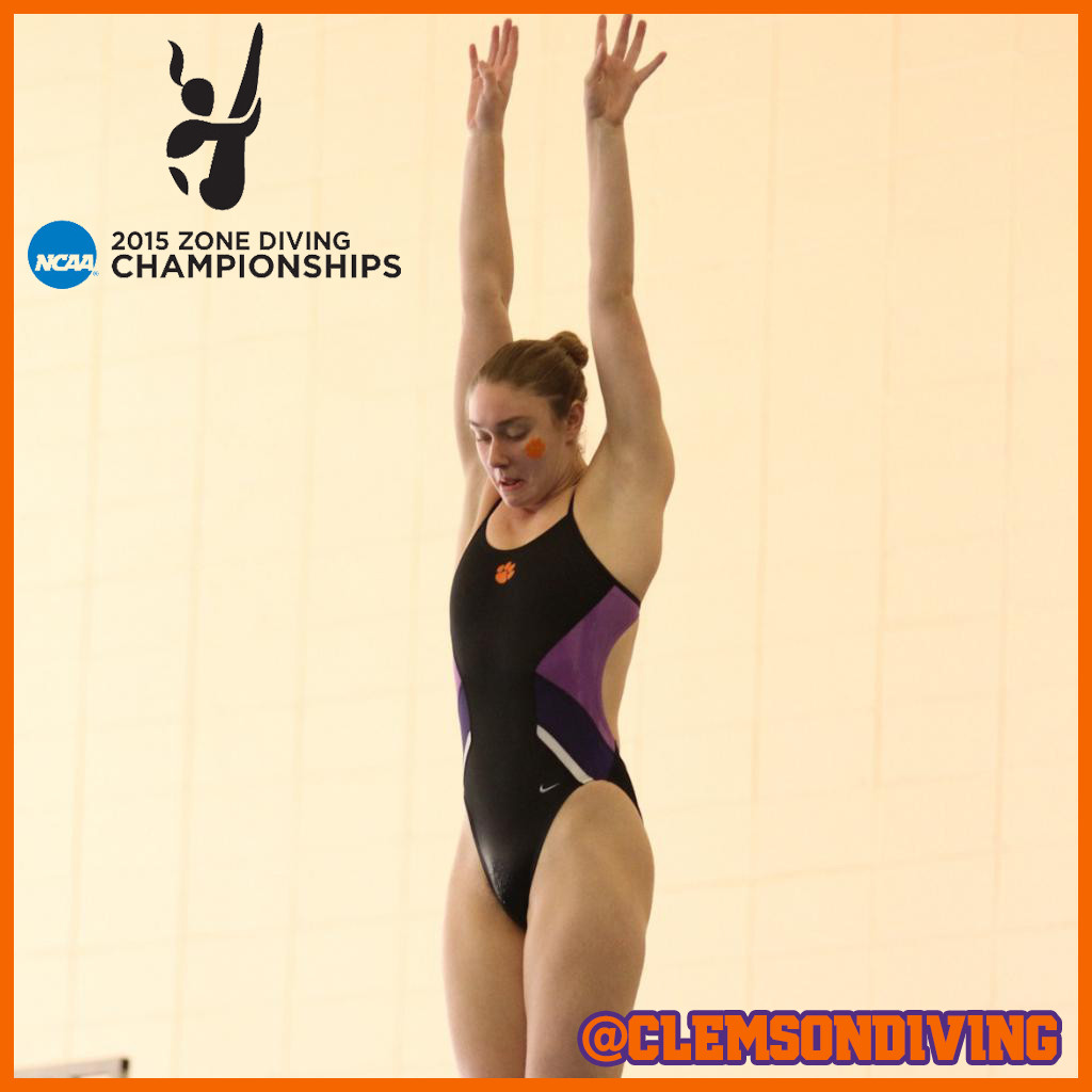 Braun Advances to One-Meter Finals on Day Two of NCAA Zone Championships