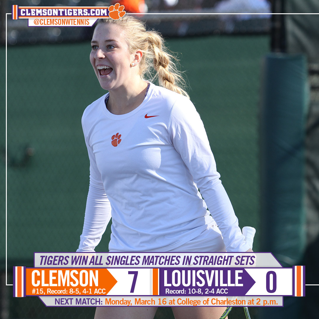 Tigers Down Louisville Saturday Afternoon