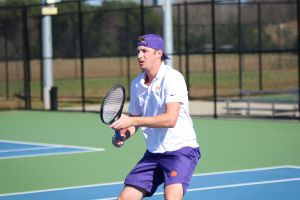 Clemson Men's Tennis || Hunter Harrington Comments