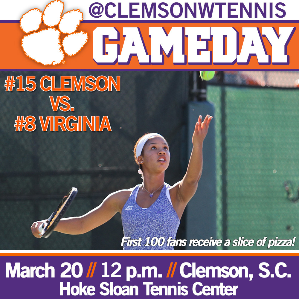 Tigers Host Virginia Friday in Tough ACC Test