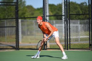 Harrington Singles Win vs. Louisville, 3/29/15