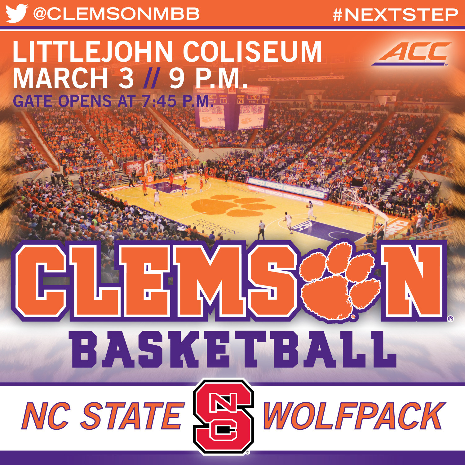 Tigers Close Out Littlejohn vs. NC State
