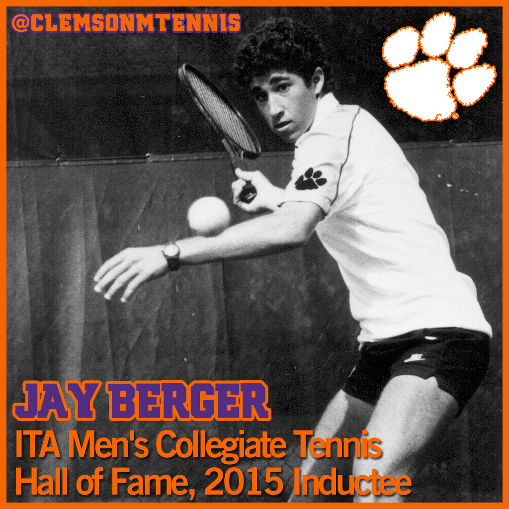 Former Tiger Jay Berger to be Inducted into ITA Hall of Fame