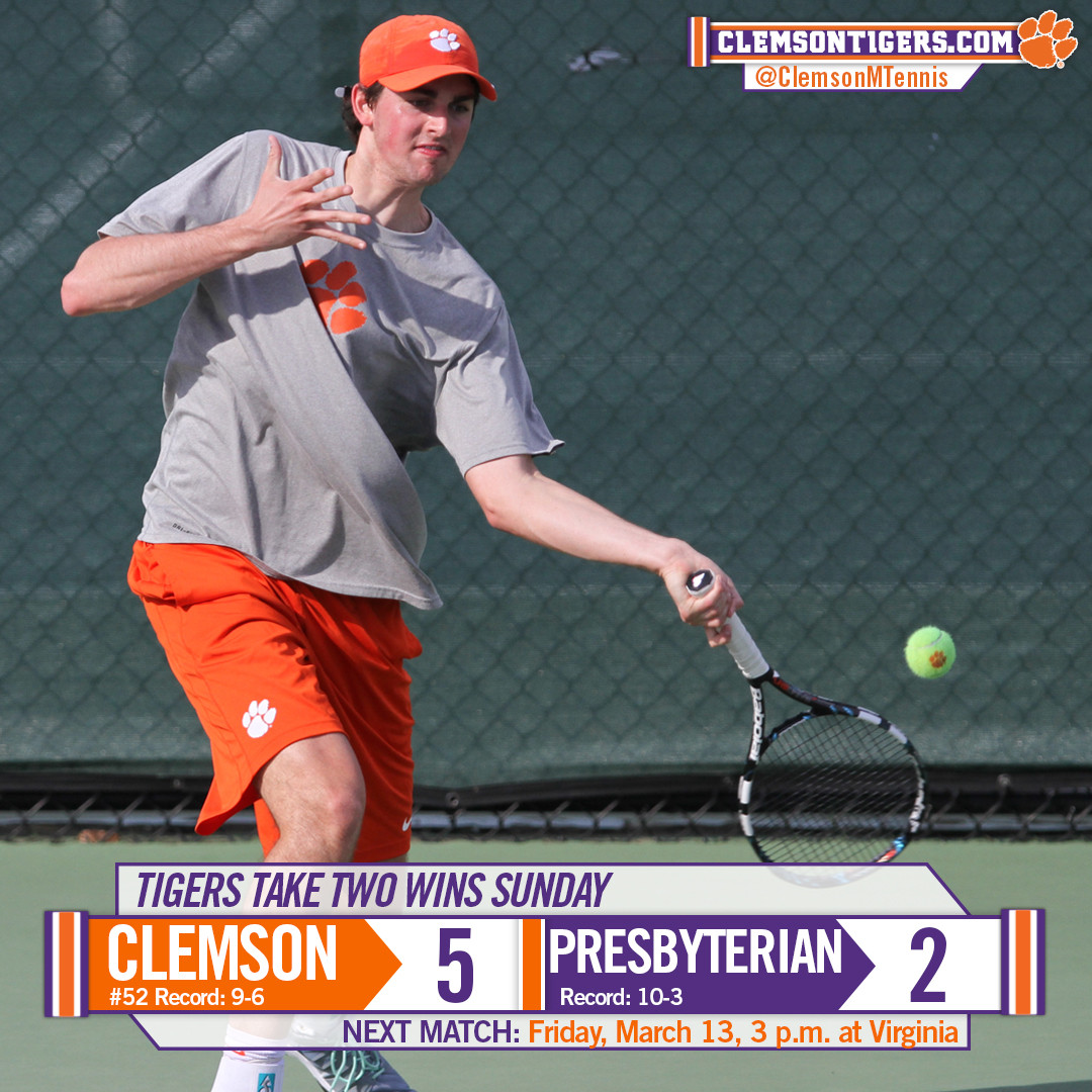 Clemson Picks Up a Pair of Wins on Sunday