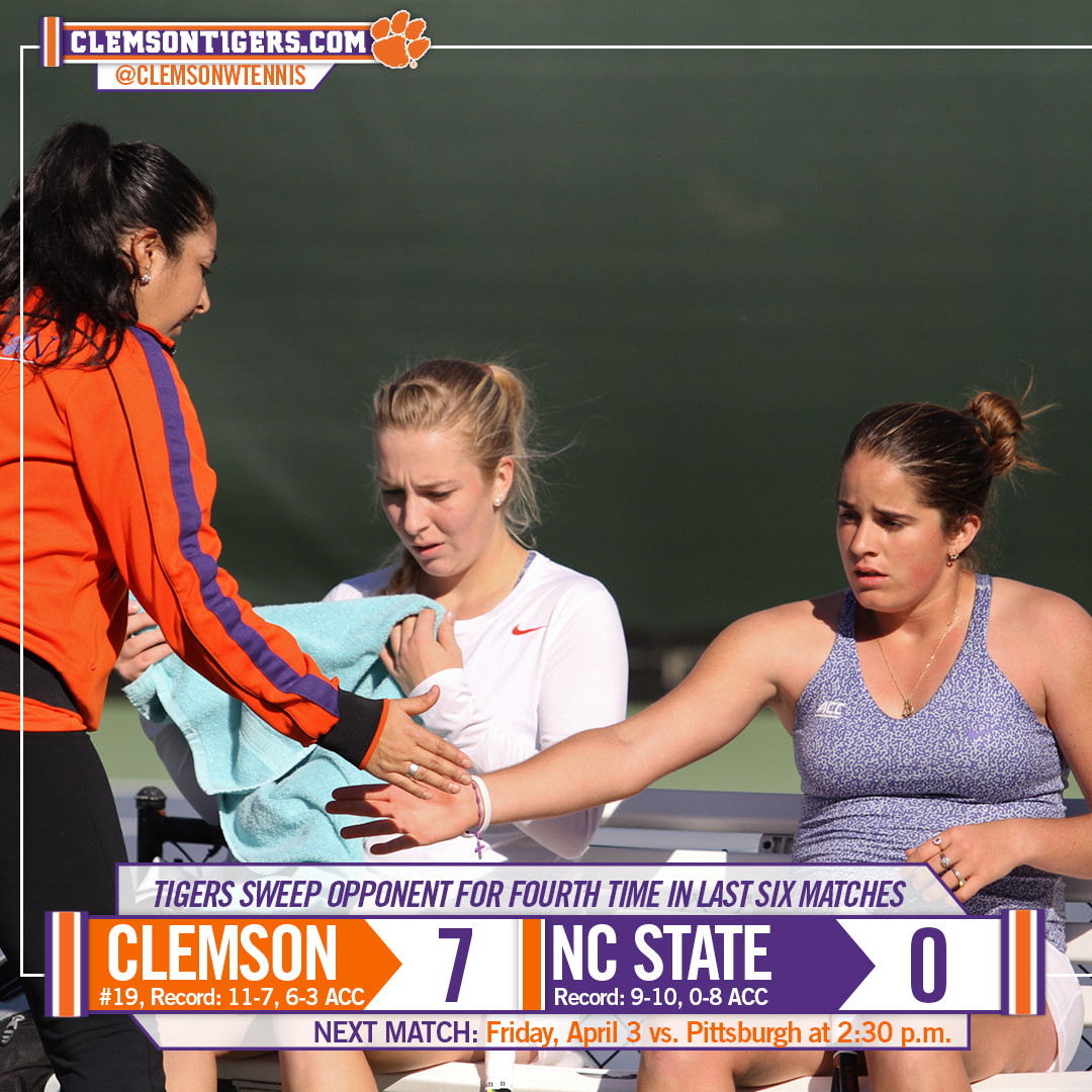 Tigers Down Wolfpack 7-0 on Sunday Afternoon
