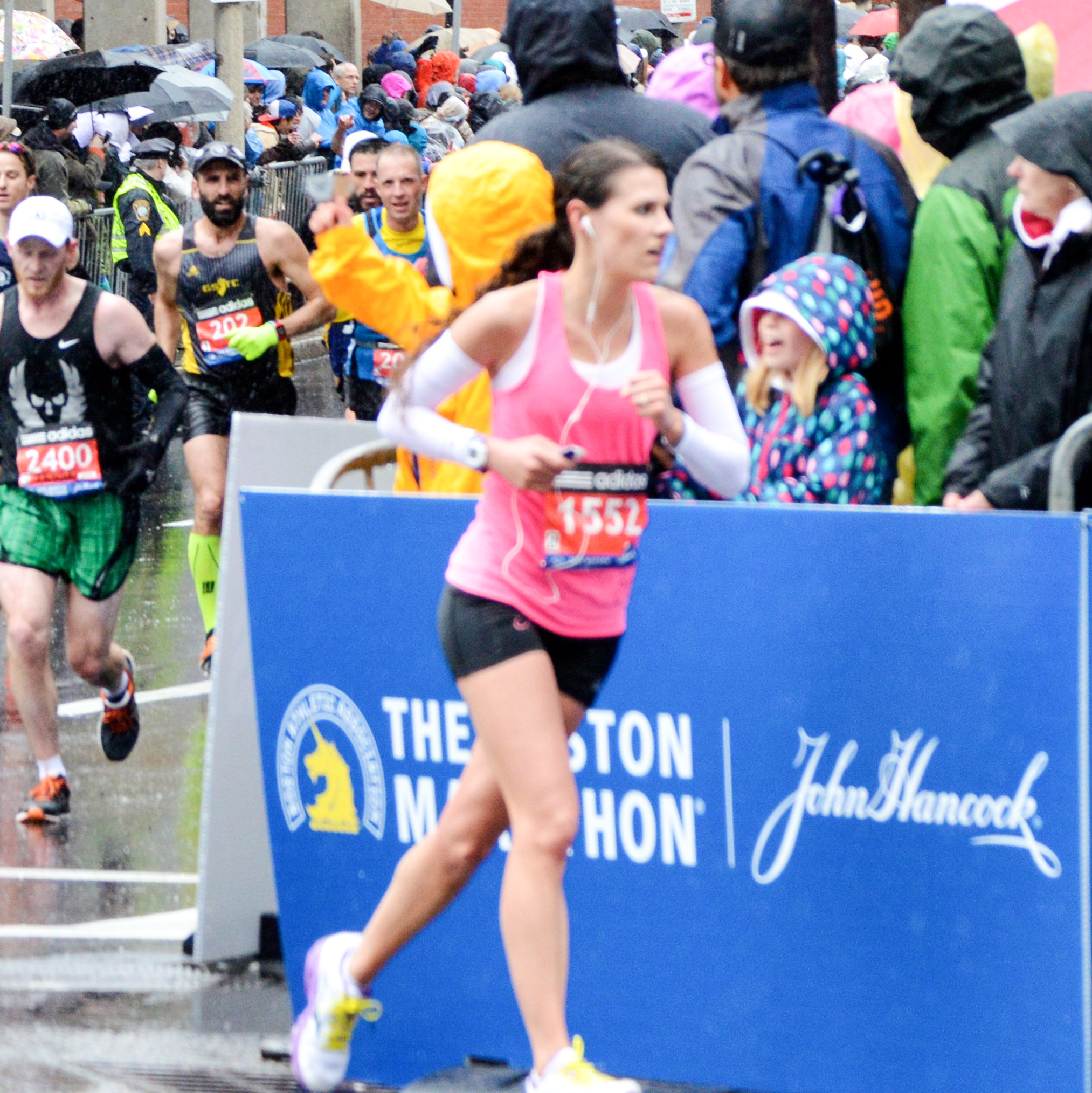 Clemson Grad Excels at Boston Marathon