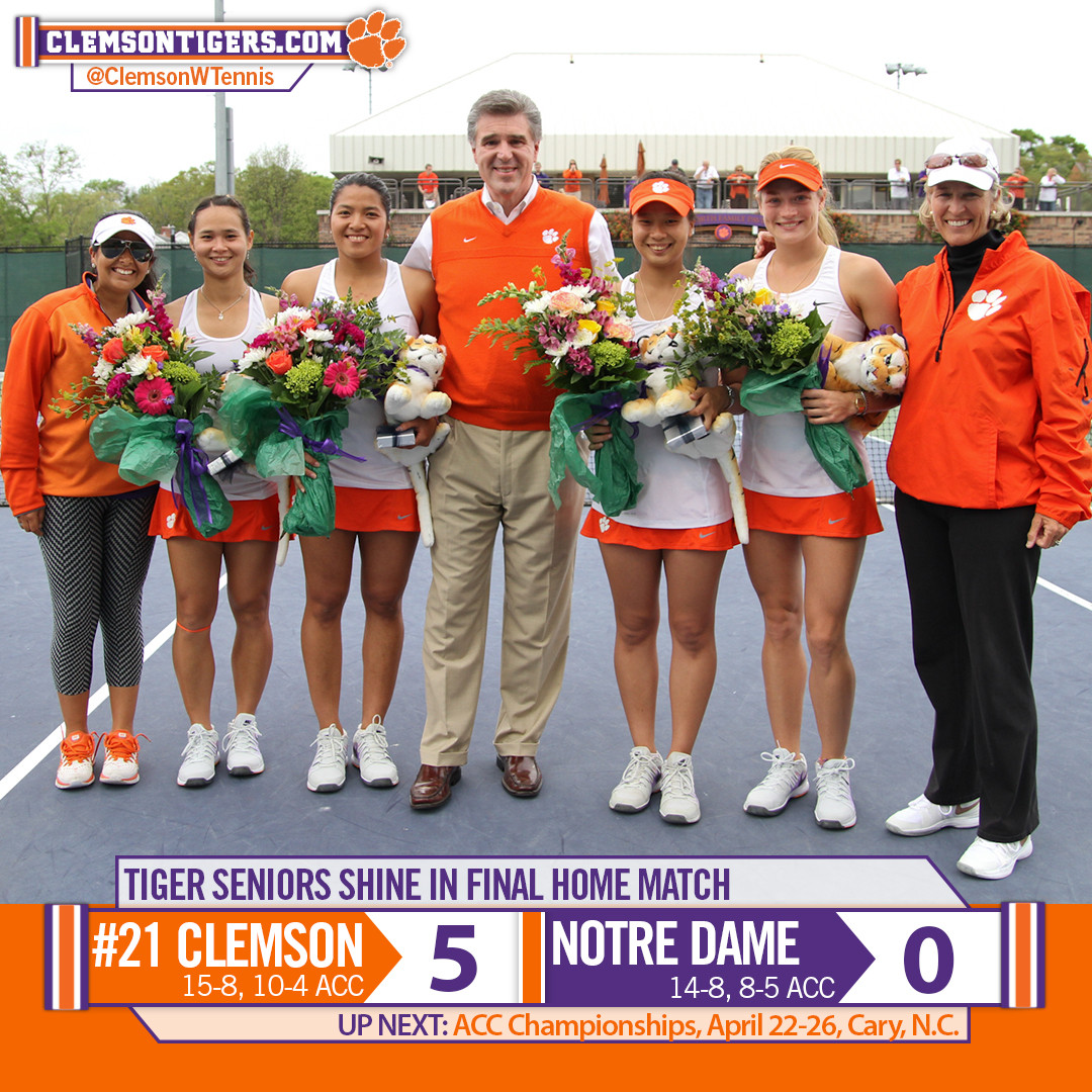 Seniors Propel Tigers to Victory over Notre Dame