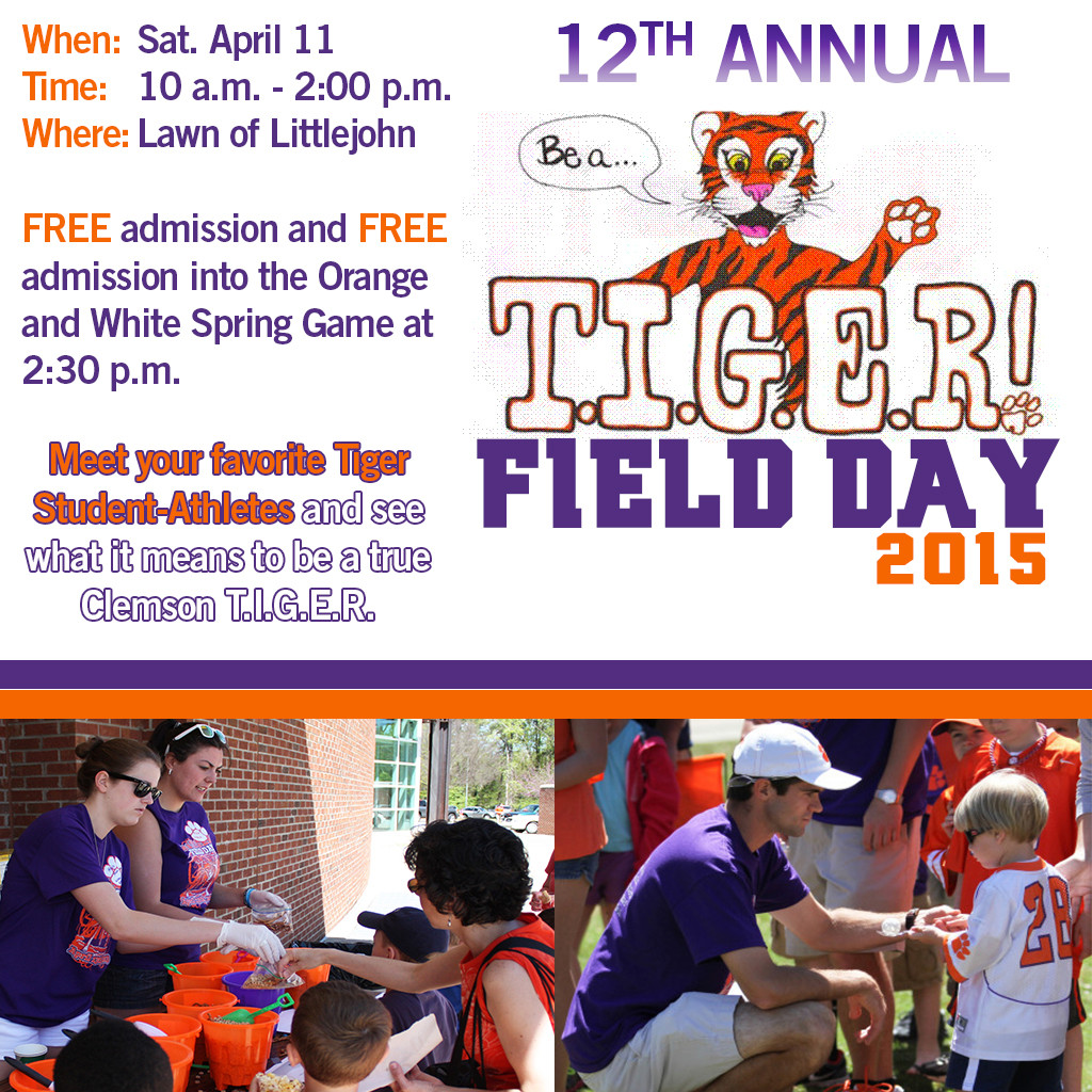 2015 Be A T.I.G.E.R Field Day