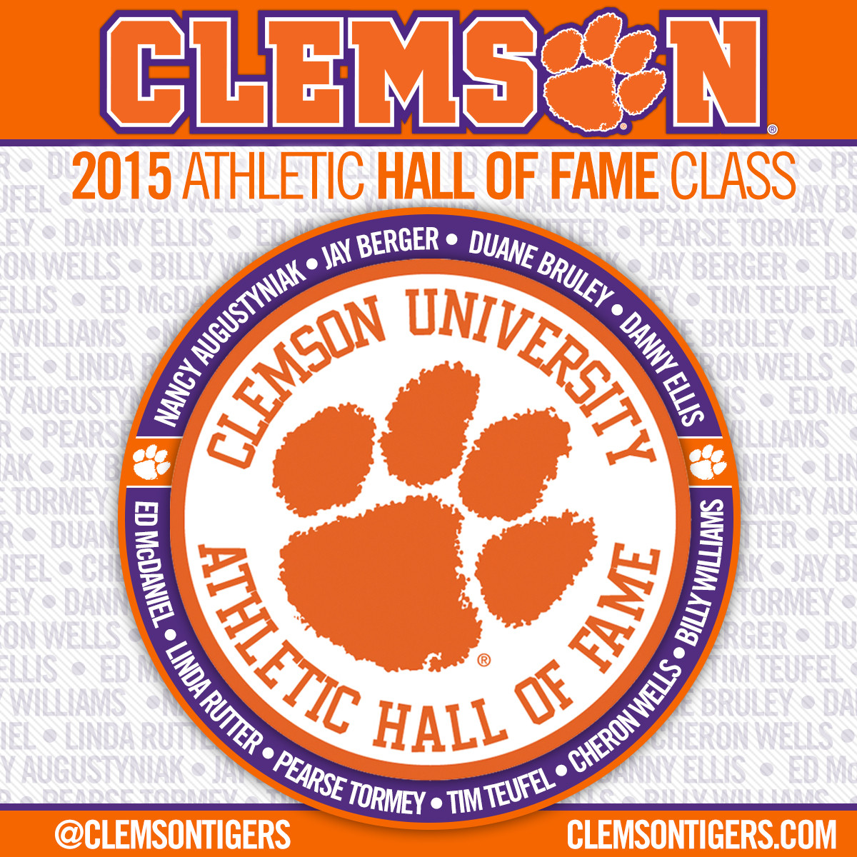 2015 CU Athletic HOF Inductees