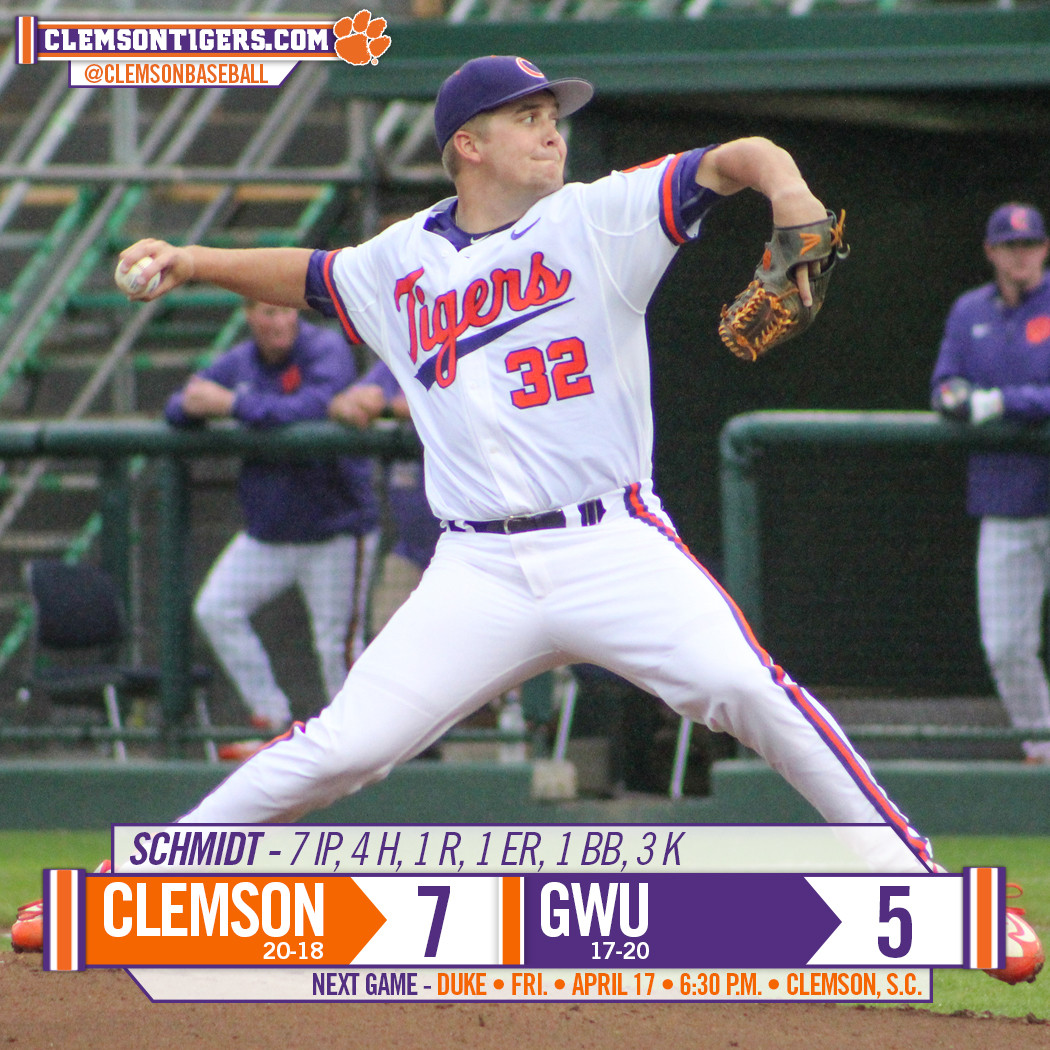 Tigers Down Gardner-Webb 7-5