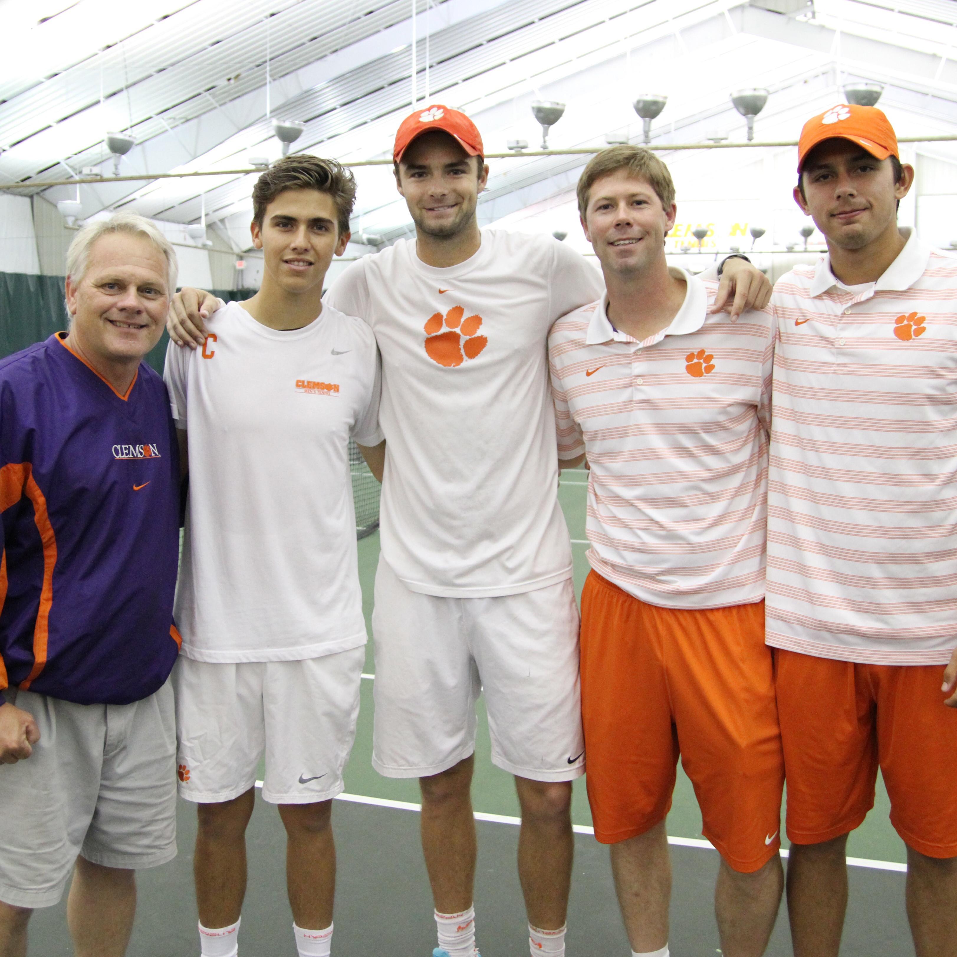 Men's Tennis || 2015 Senior Day