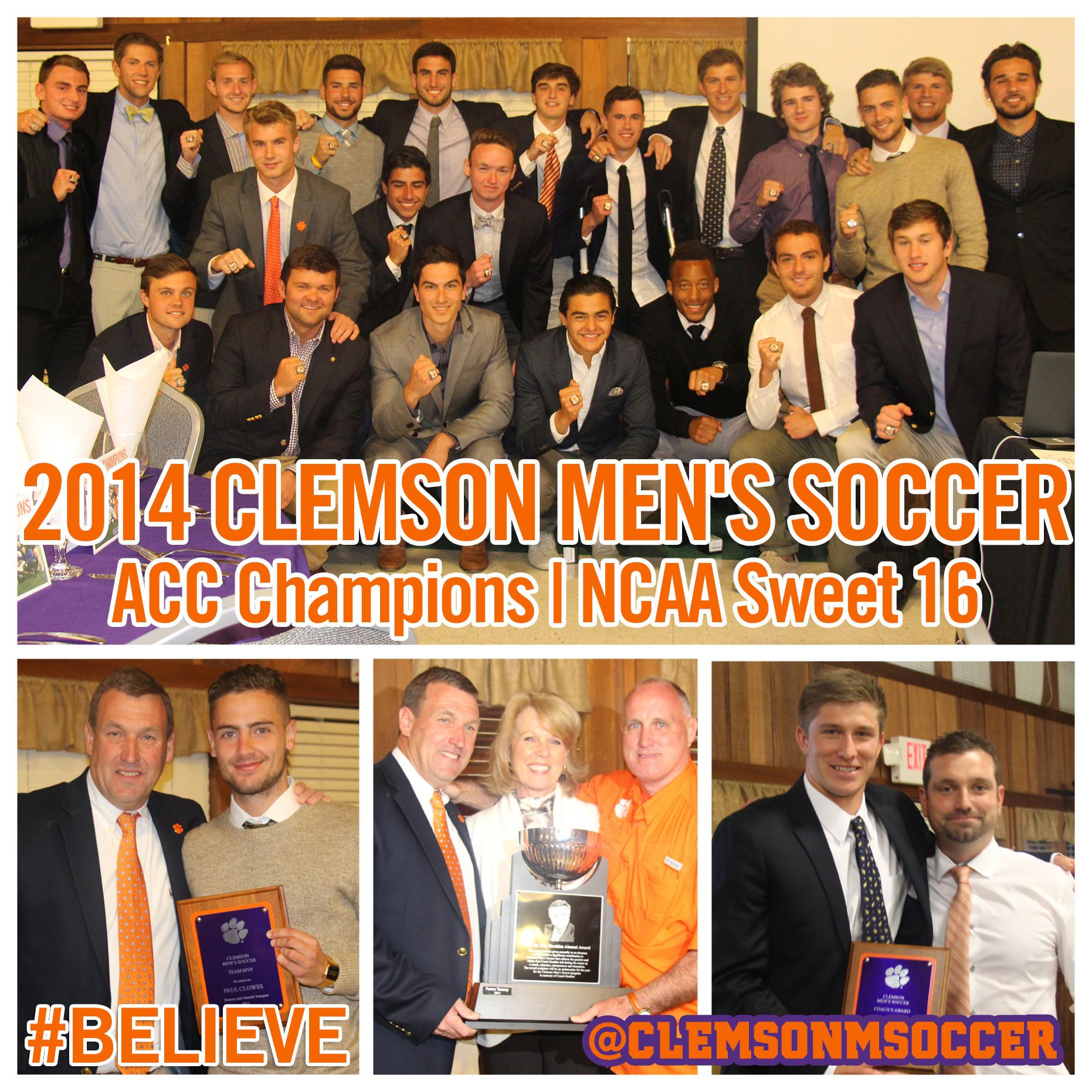 Men?s Soccer Program Celebrates 2014 Season, Announces Award Winners