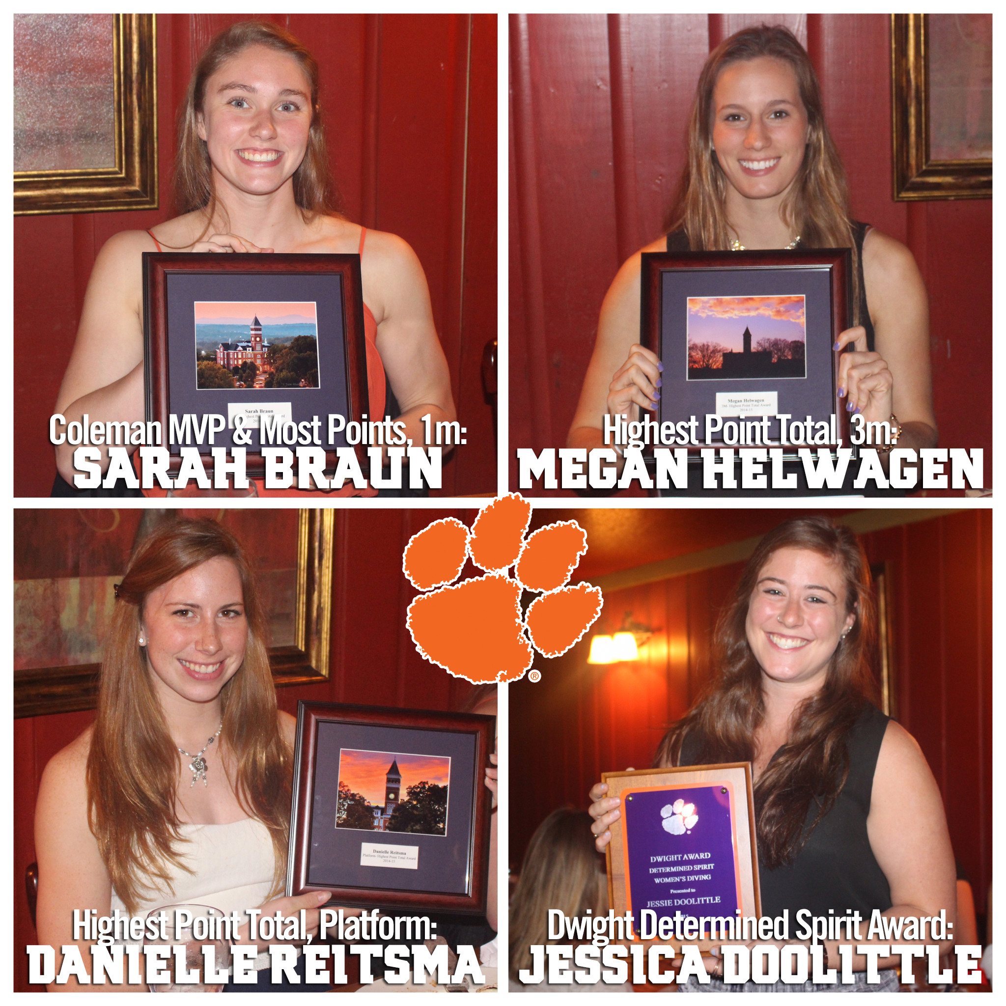 Tigers Hold Annual Postseason Banquet, Announce Award Recipients