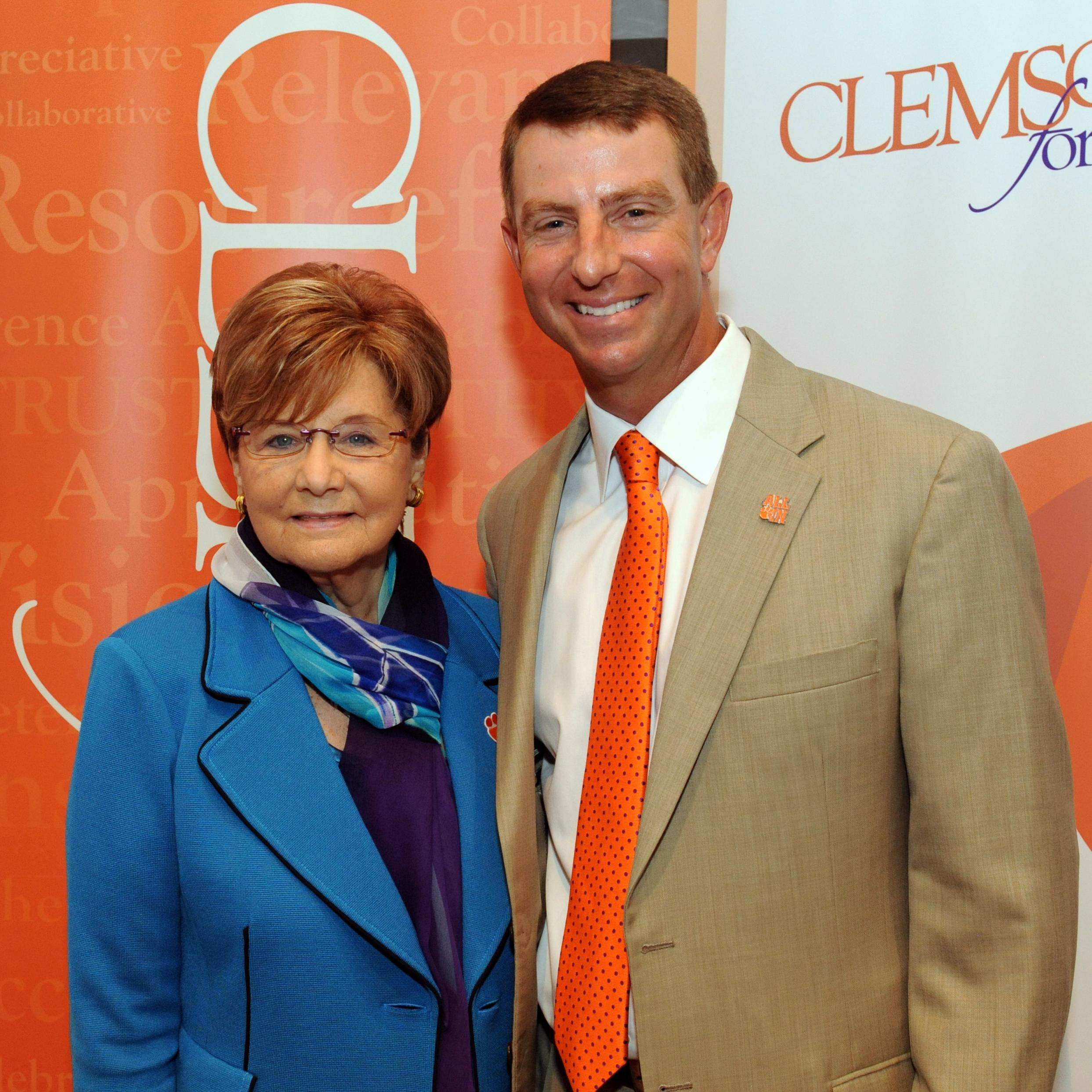 Betty Poe Pledges Second Cornerstone Gift to Athletics