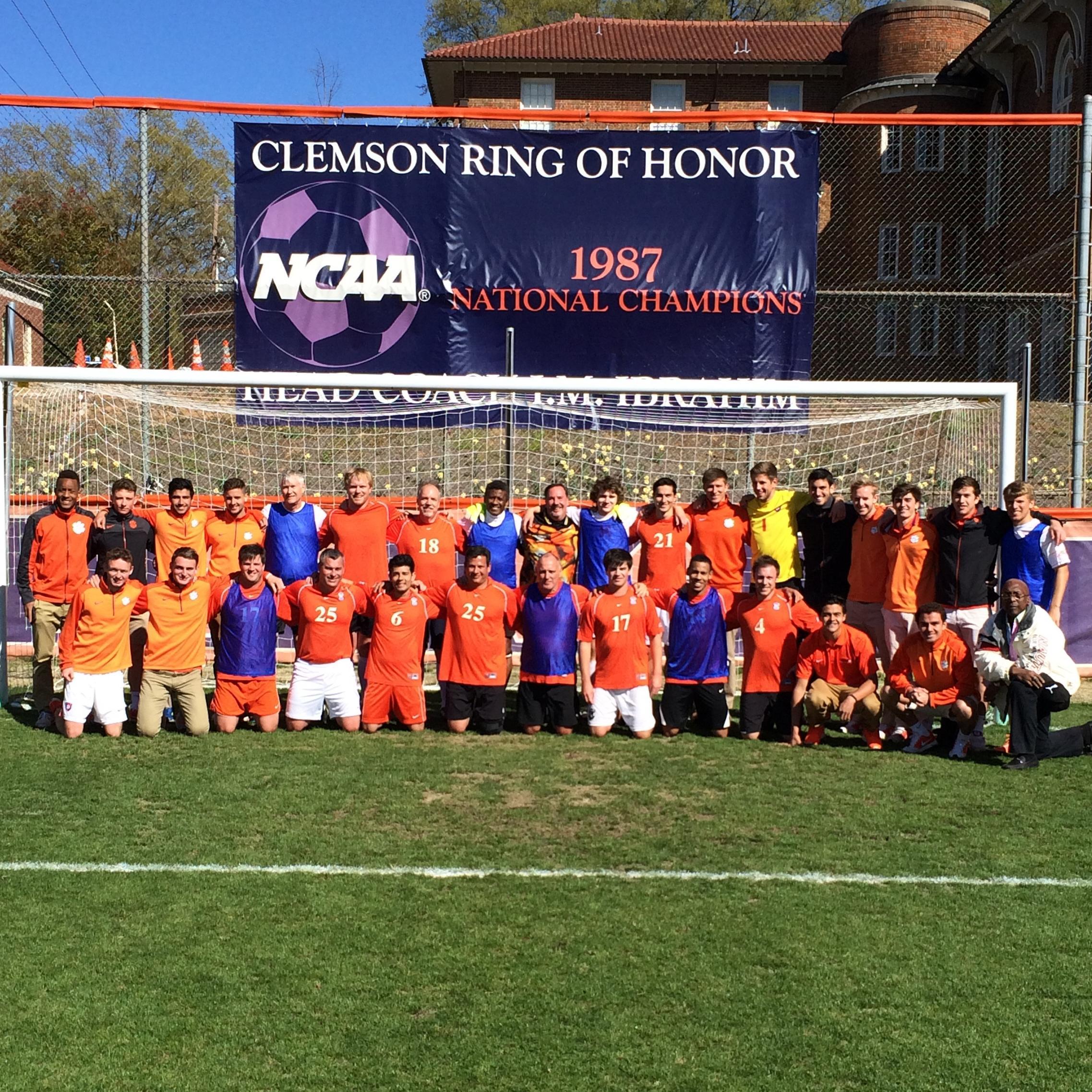 Inaugural Clemson Men?s Soccer Alumni Weekend a Success