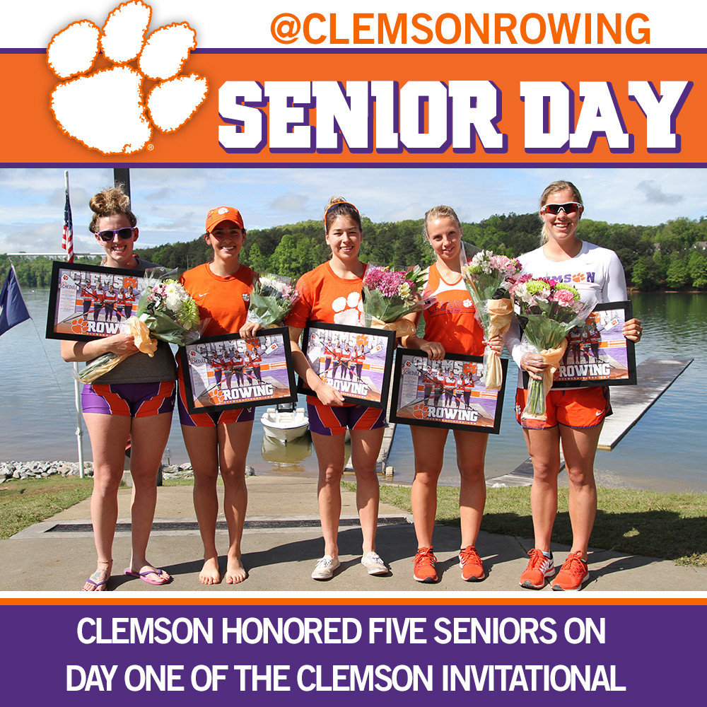 Rowing Senior Day