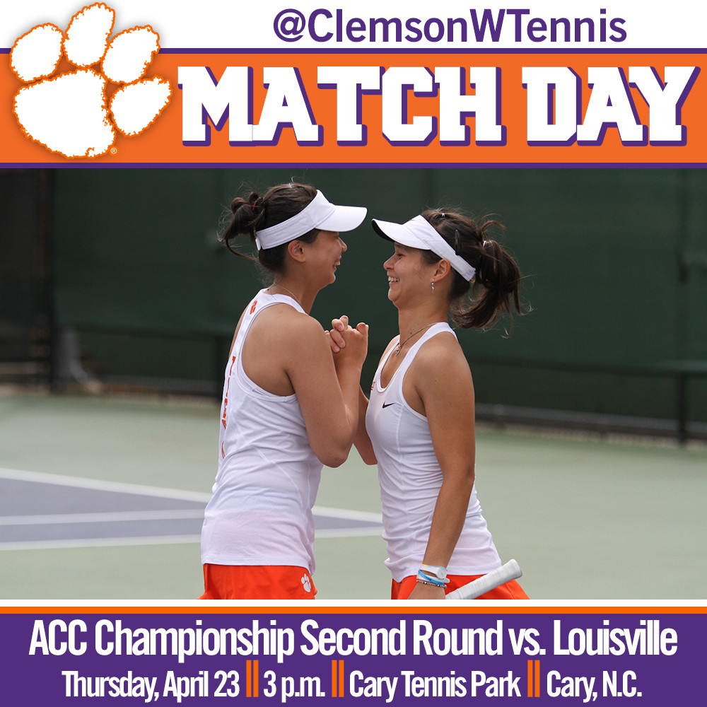 #21 Tigers Face Louisville in ACC Tournament Second Round Thursday