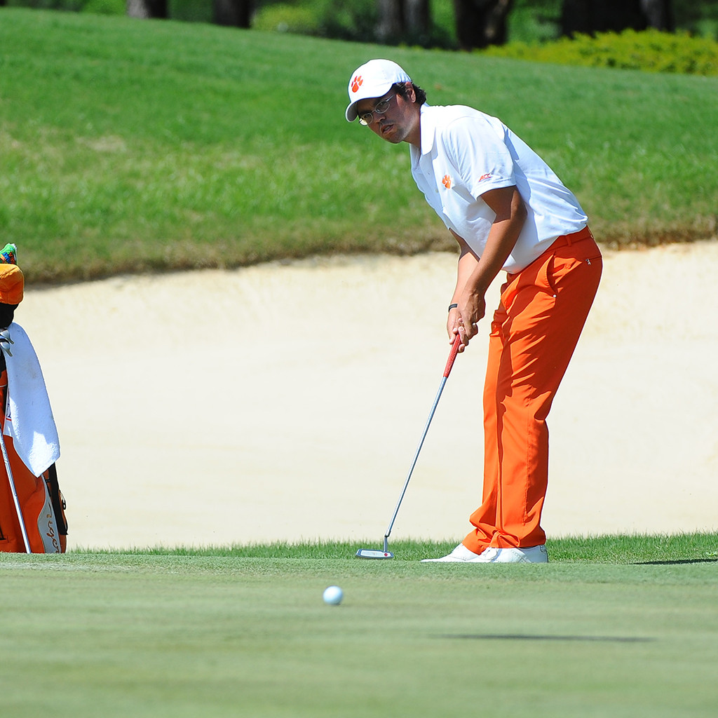 Tigers Tied for Third after Day One of NCAA Regional