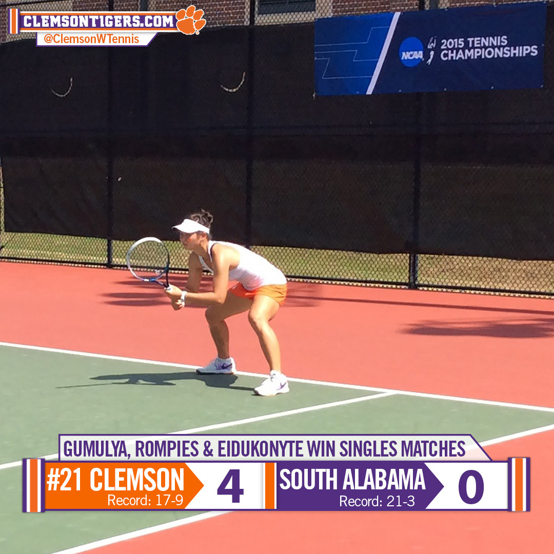 No. 21 Tigers Blank South Alabama, Advance to NCAA Second Round Saturday