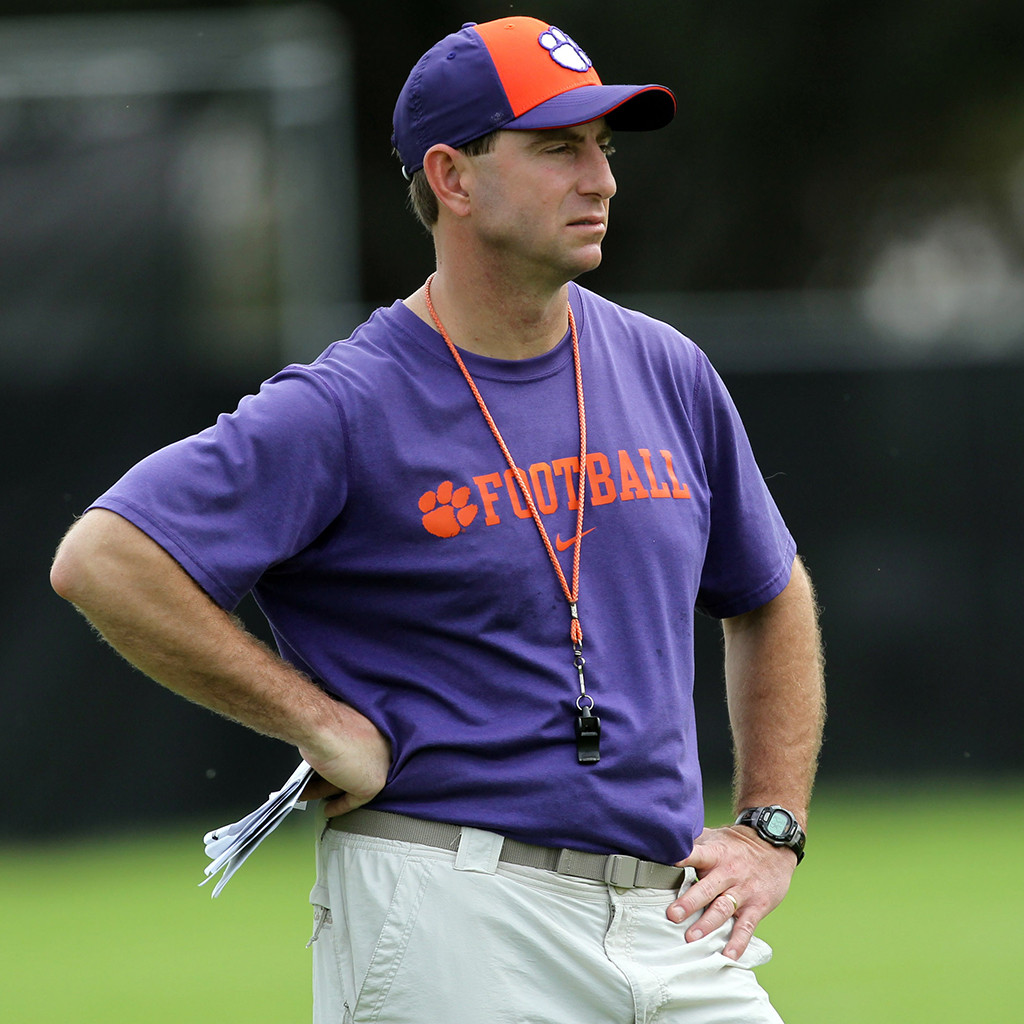 Clemson 12th in Preseason AP Poll