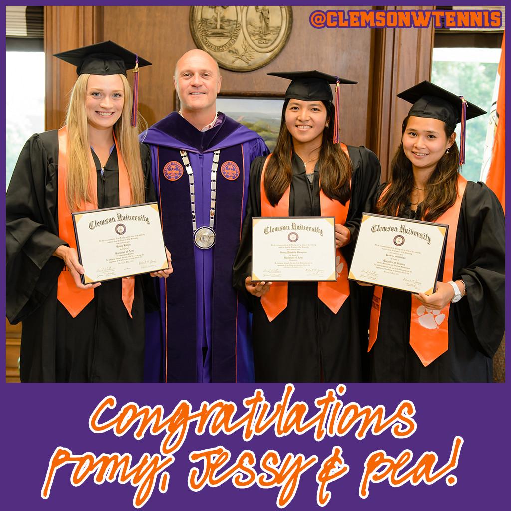 Women?s Tennis || Tigers Enjoy Special Graduation Ceremony