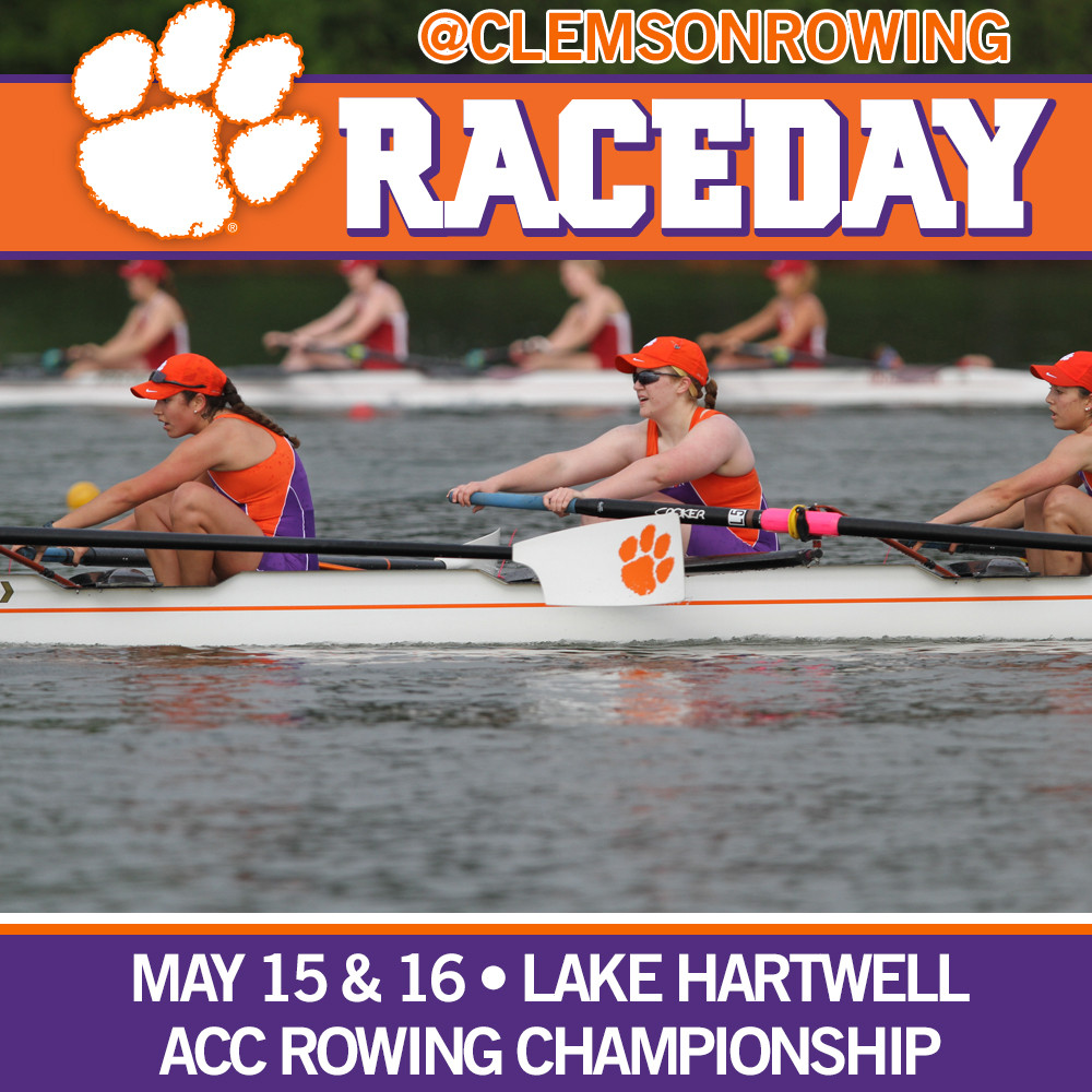 Tigers Host ACC Rowing Championship