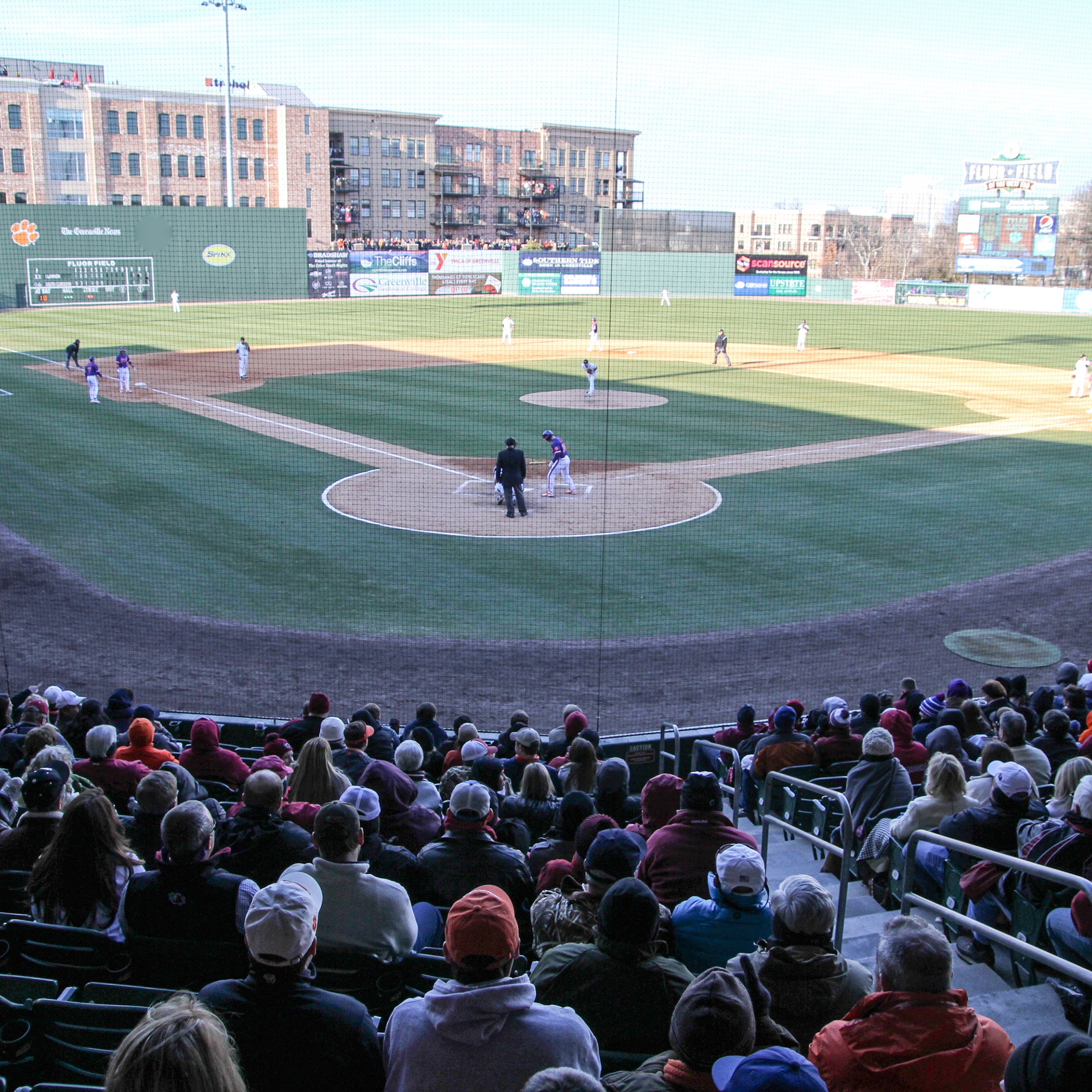 CU Faces Furman at Fluor Field