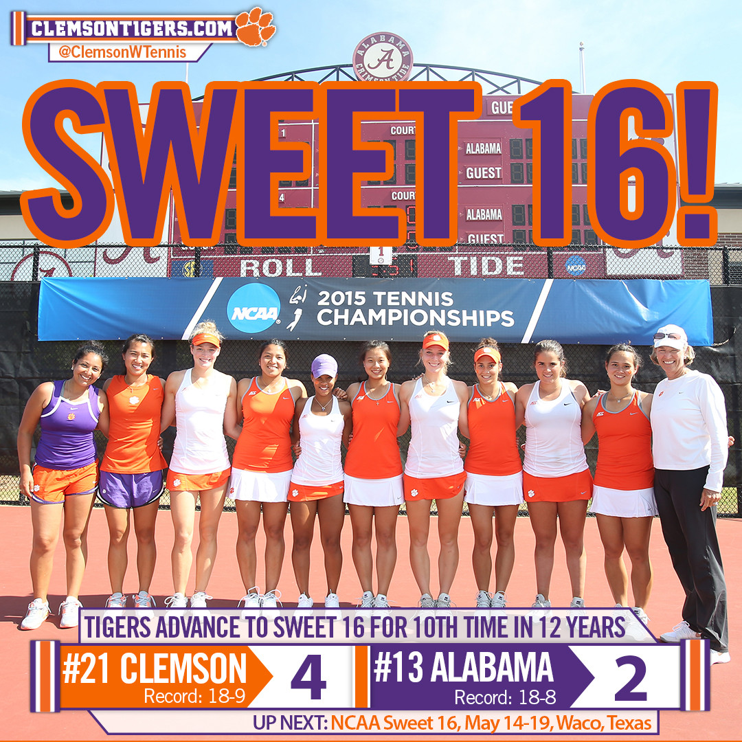 No. 21 Tigers Advance to NCAA Sweet 16 with Upset over No. 13 Alabama