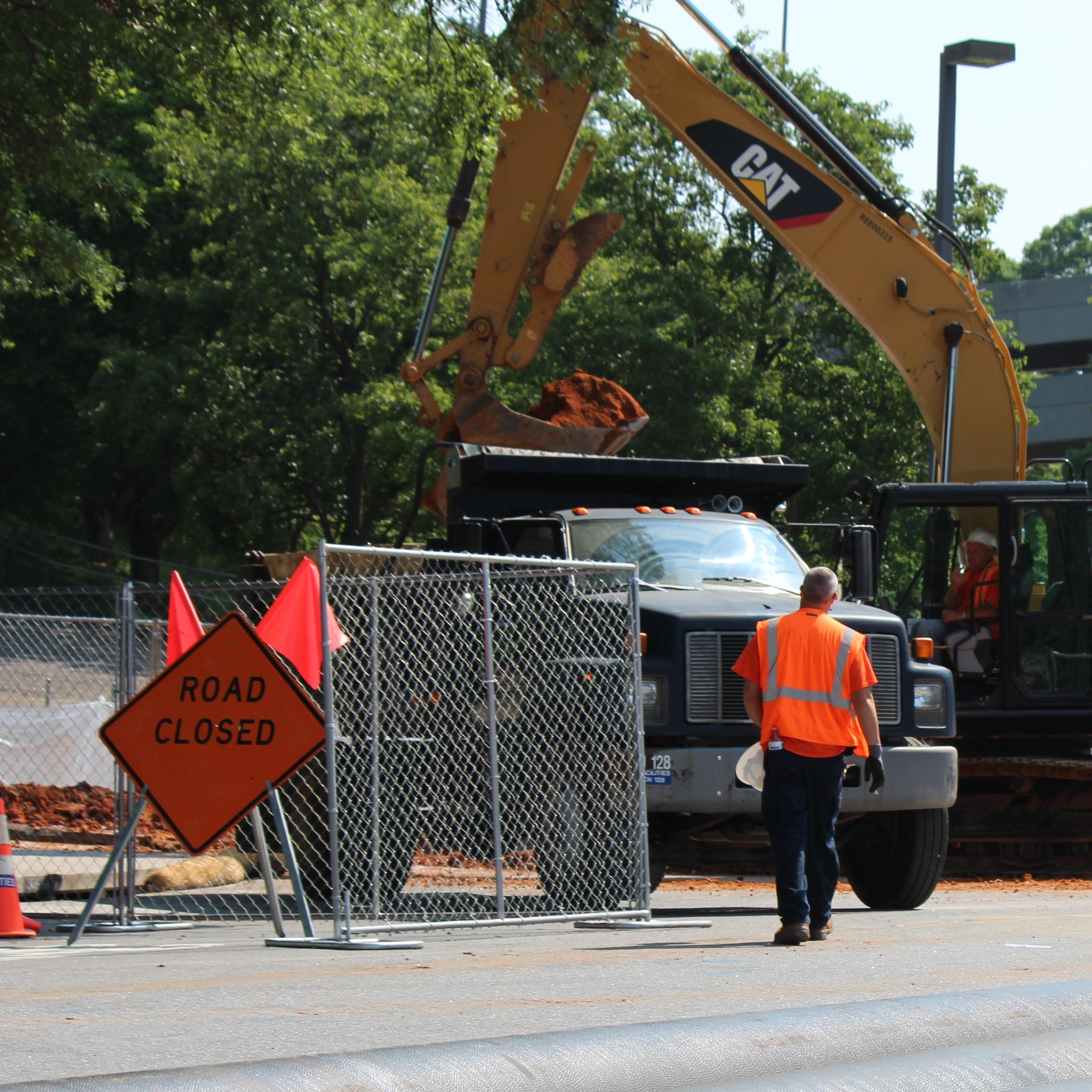 Avenue of Champions Closed Due to Ongoing Work