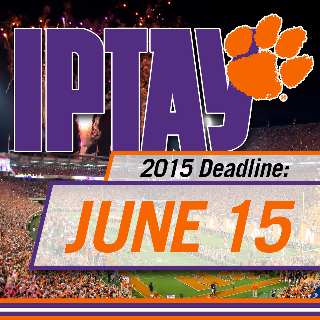 Reminder: Deadline Is Approaching To Complete IPTAY Pledge