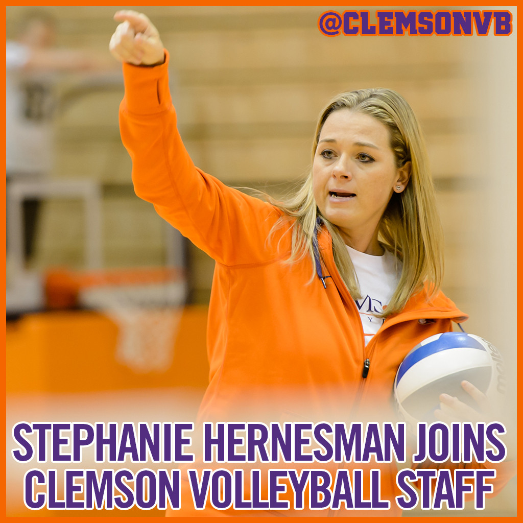 Stephanie Hernesman Named Assistant Volleyball Coach
