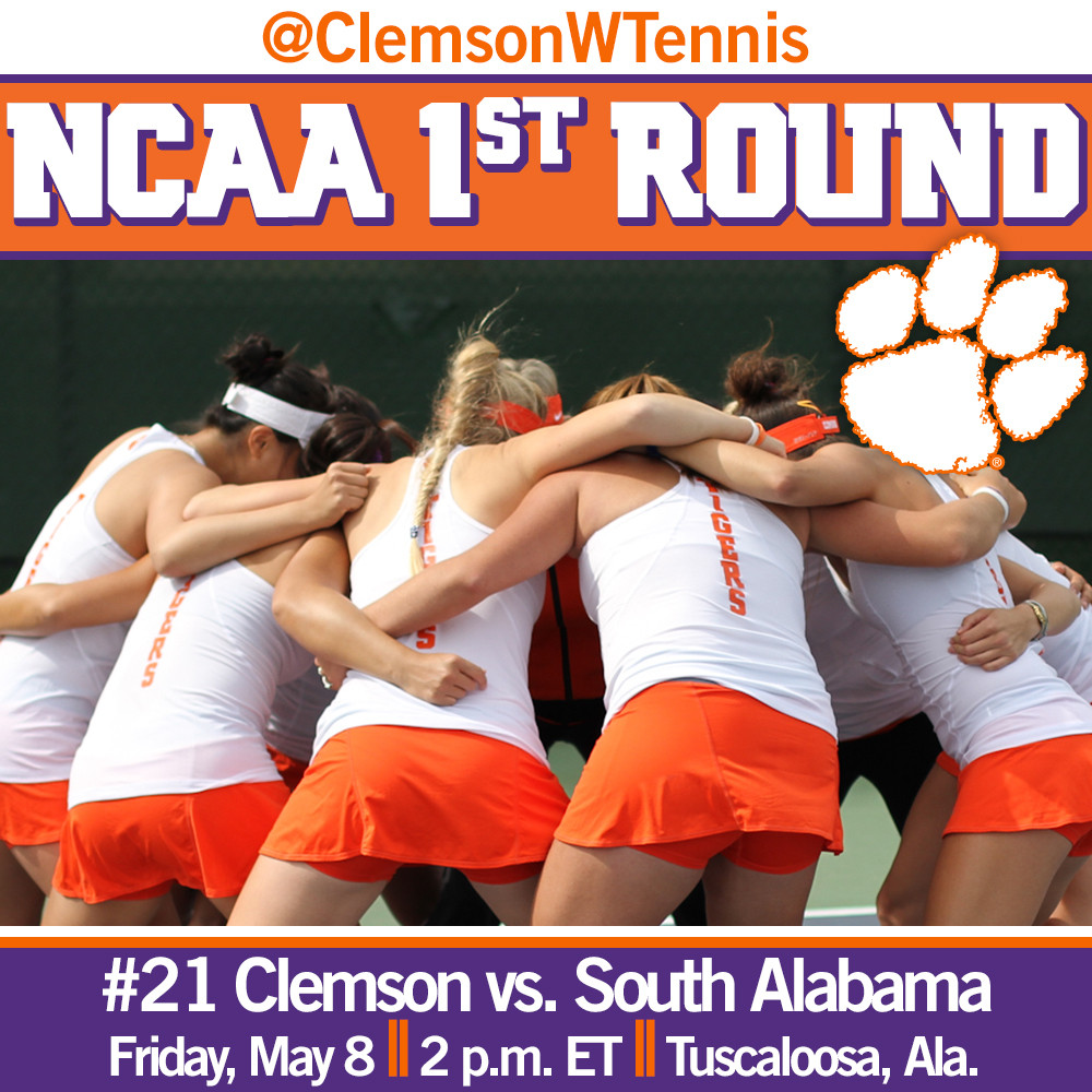 Tigers Face South Alabama in NCAA First Round Friday in Tuscaloosa