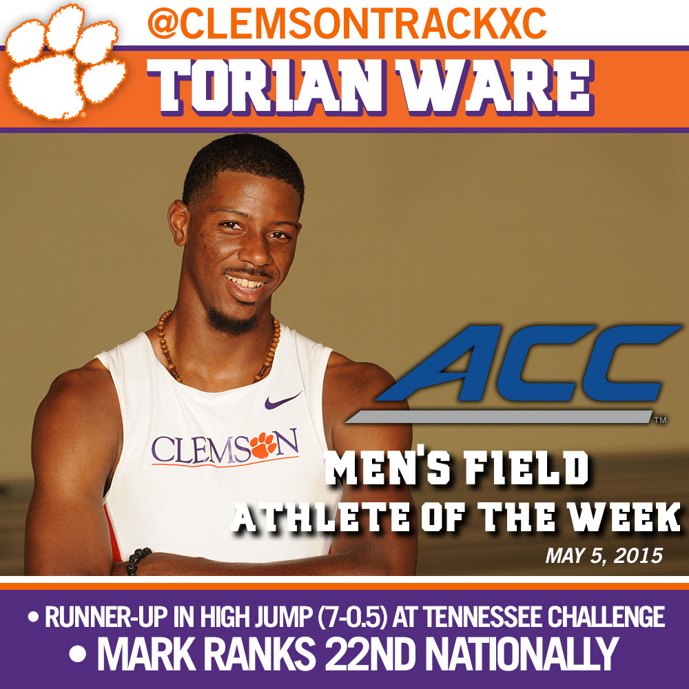 Ware Given Athlete of the Week Honors