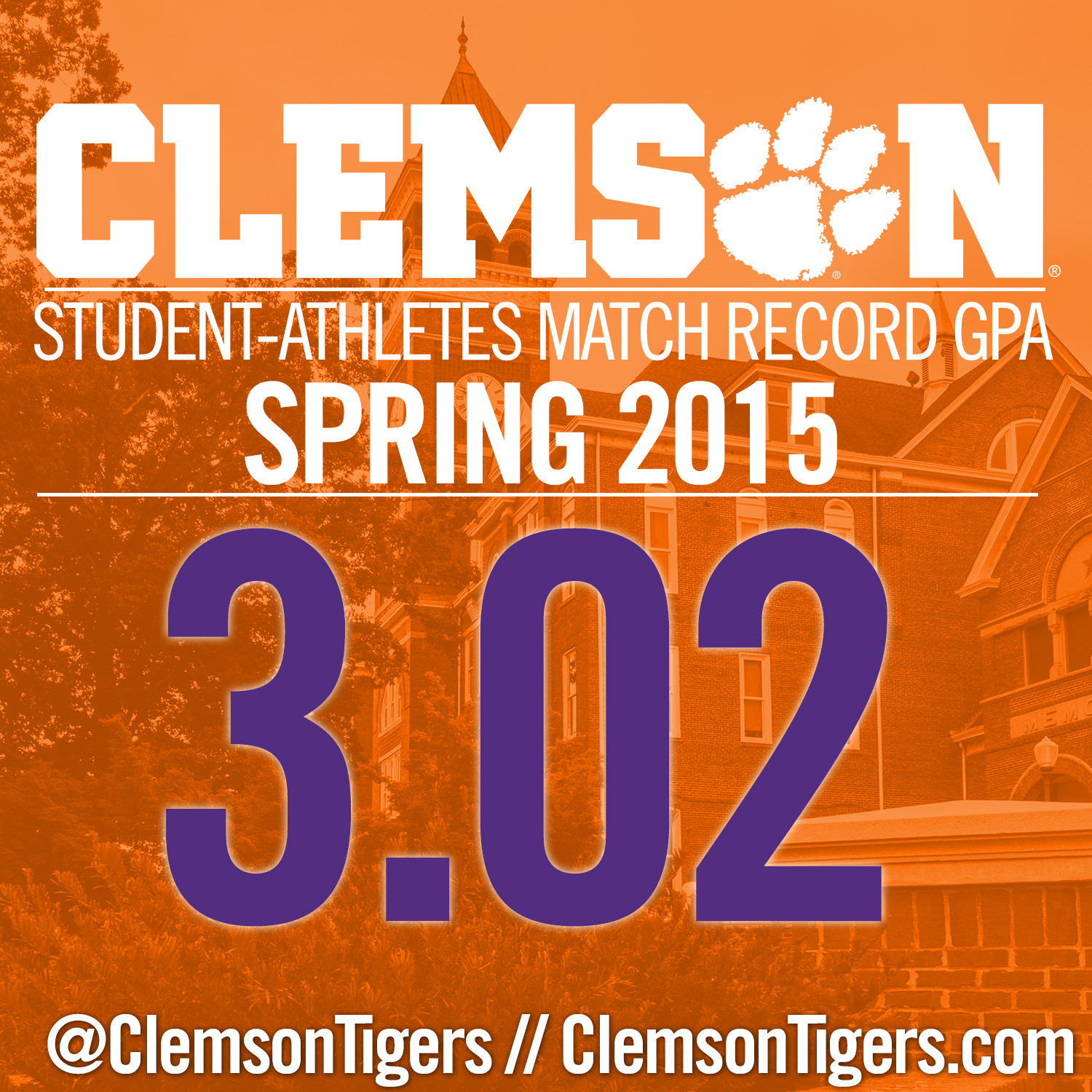 Student-Athletes Record 3.02 Spring GPA
