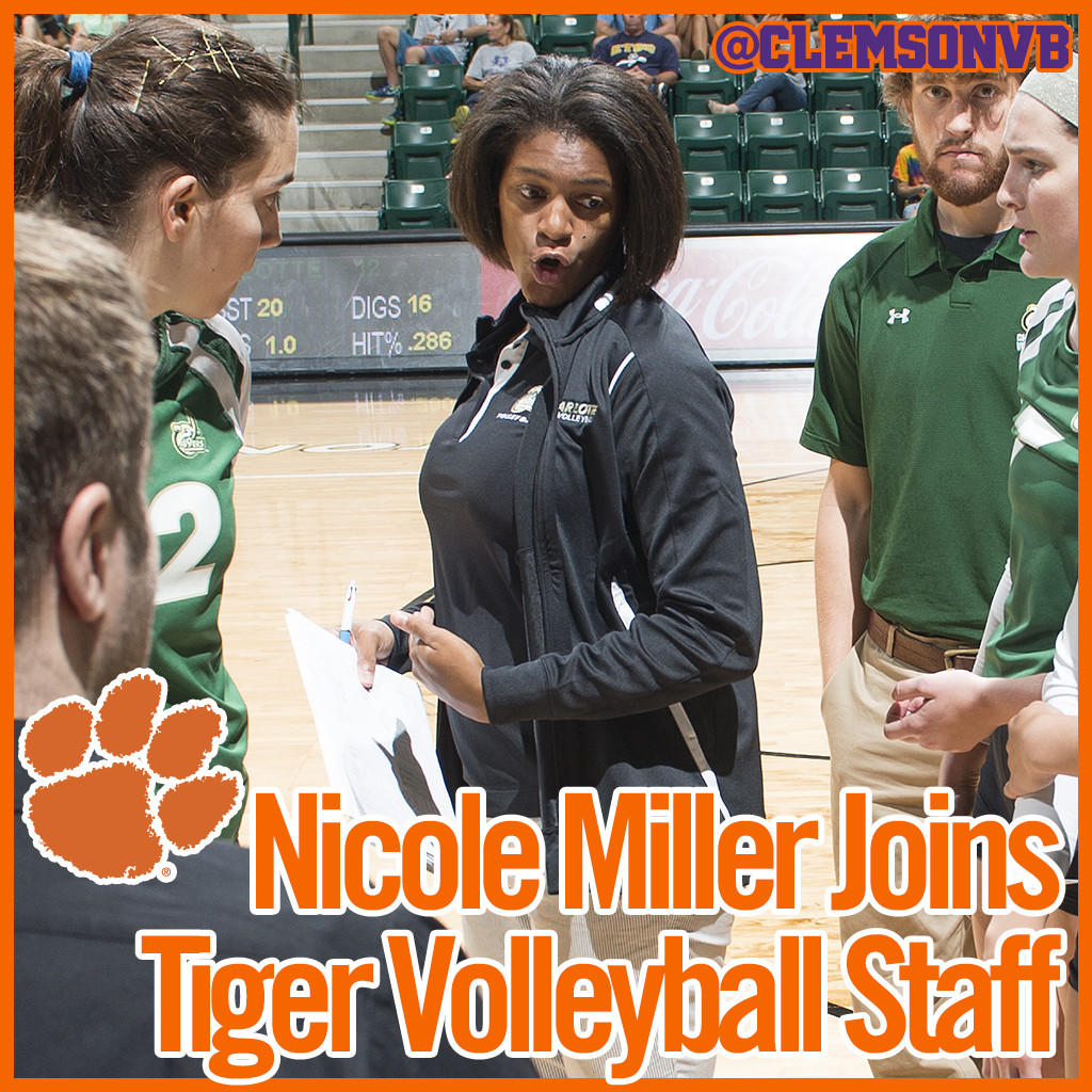 Nicole Miller Named Assistant Volleyball Coach