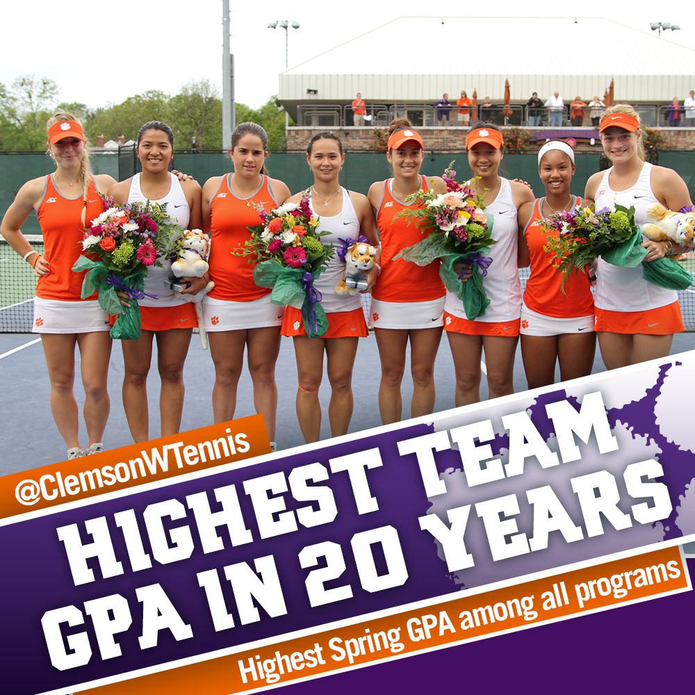 Tigers Post Best Team GPA in 20 Years