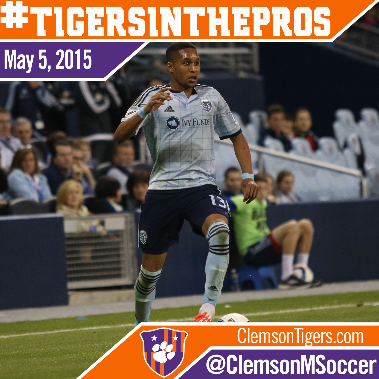 Four Former Tigers See MLS Action
