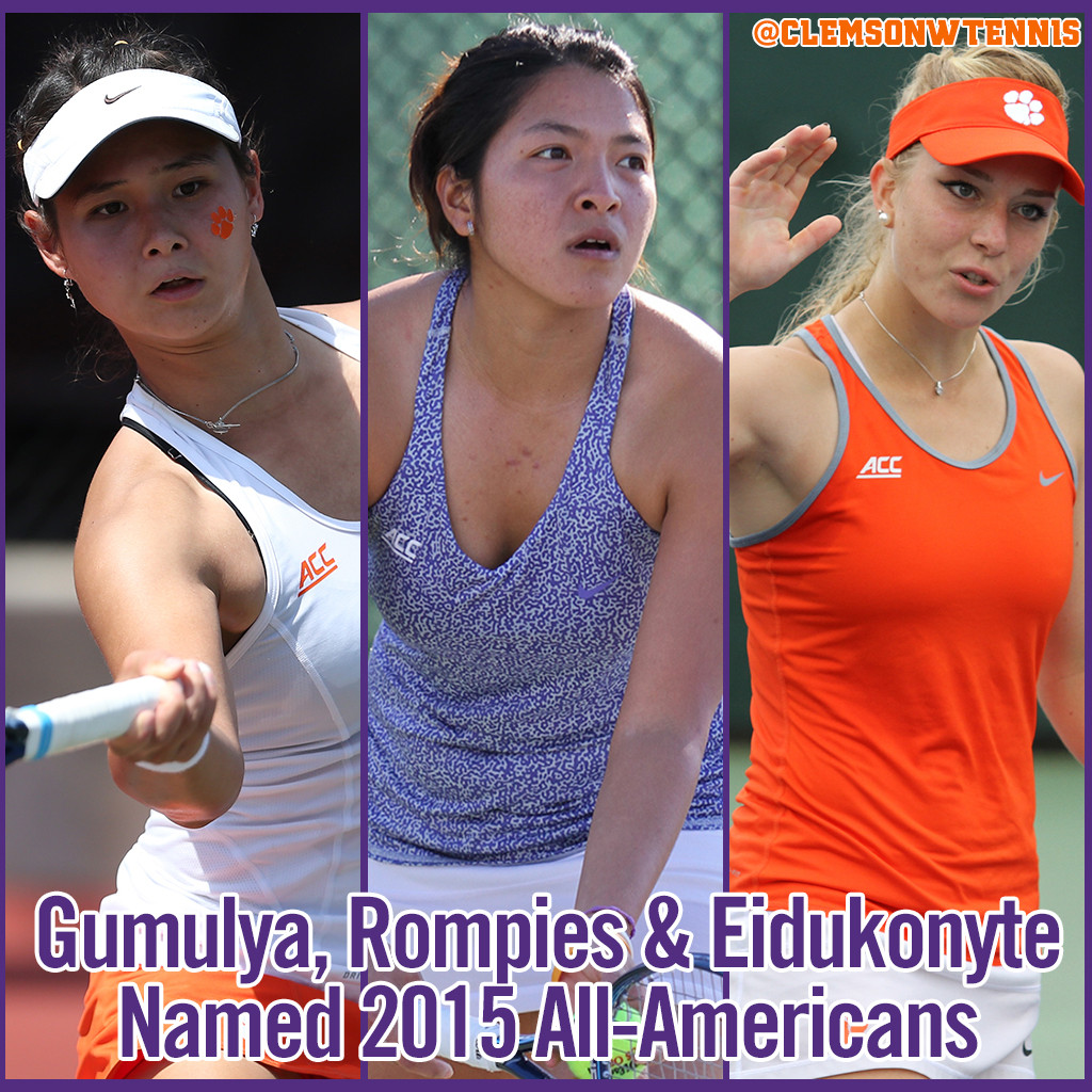 Three Tigers Named All-Americans
